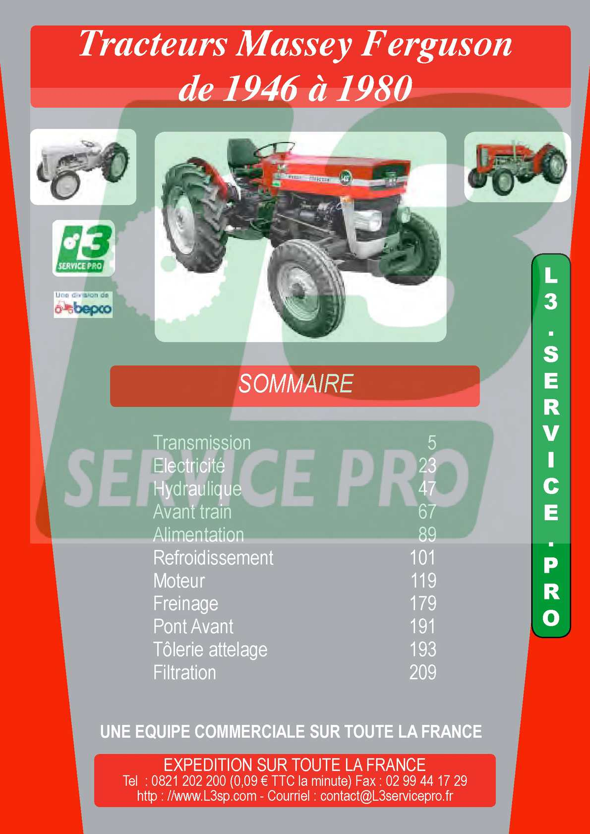 Tracteur Massey Ferguson 820 825 830 Bougie de Préchauffage