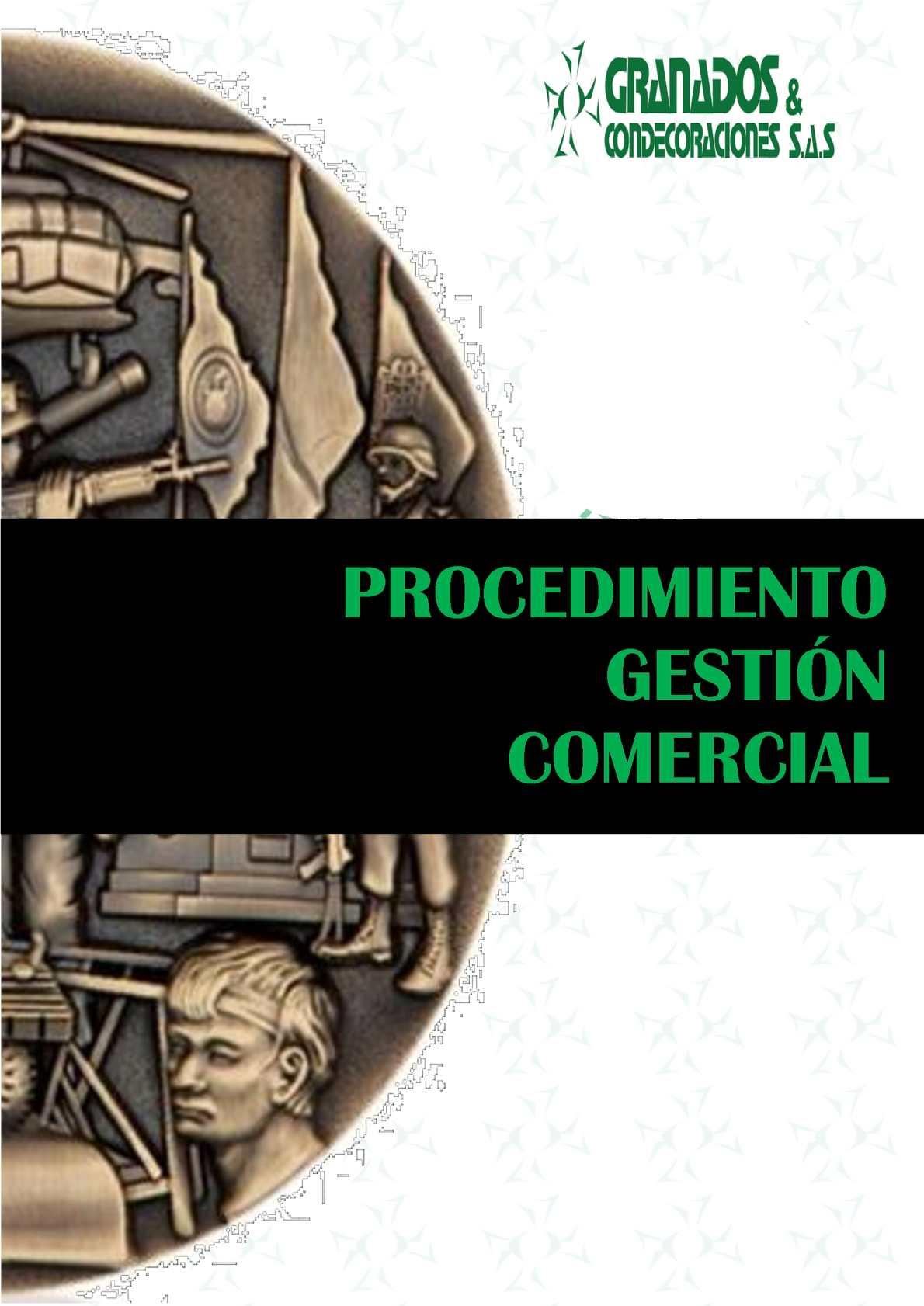 Co Pr 001 Procedimiento Gestion Comercial V 2