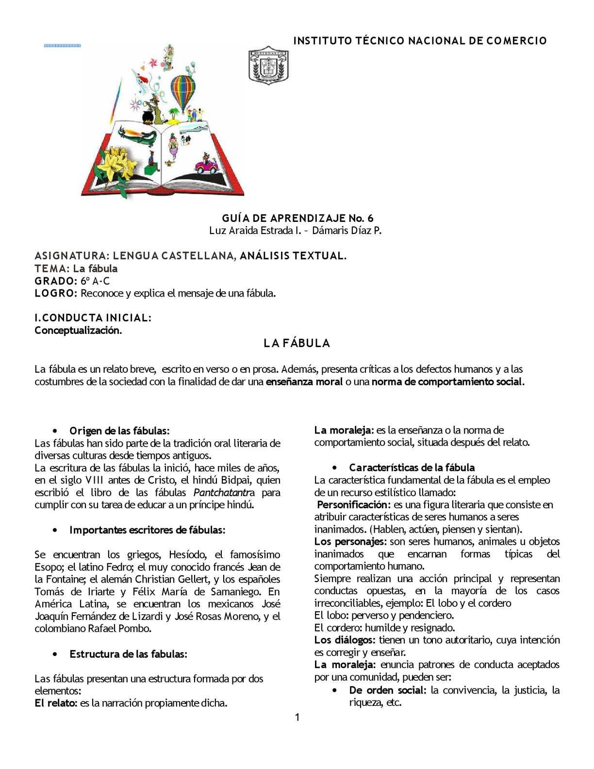 Guia 6 La Fábula Calameo Downloader