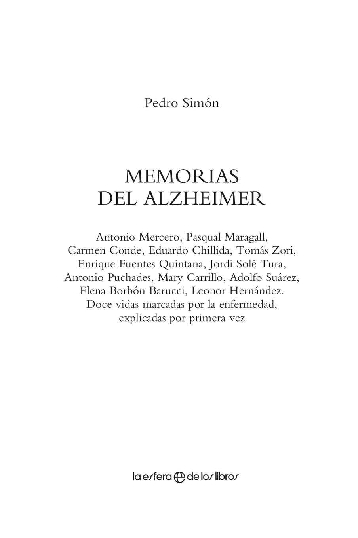 Calaméo Libro Memorias Del Alzheimer
