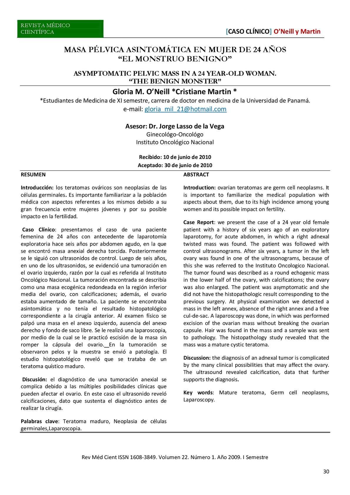patogénesis tumoral sacrococcígea de diabetes
