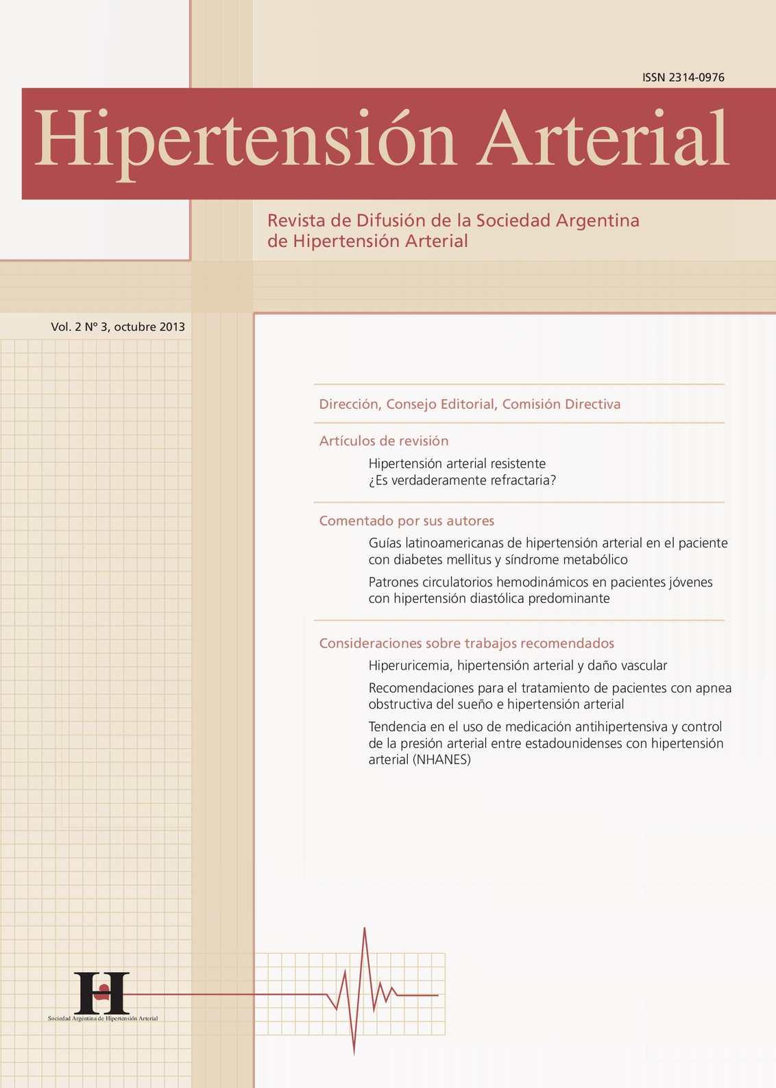Hipertensión refractaria a la medicación de hidralazina