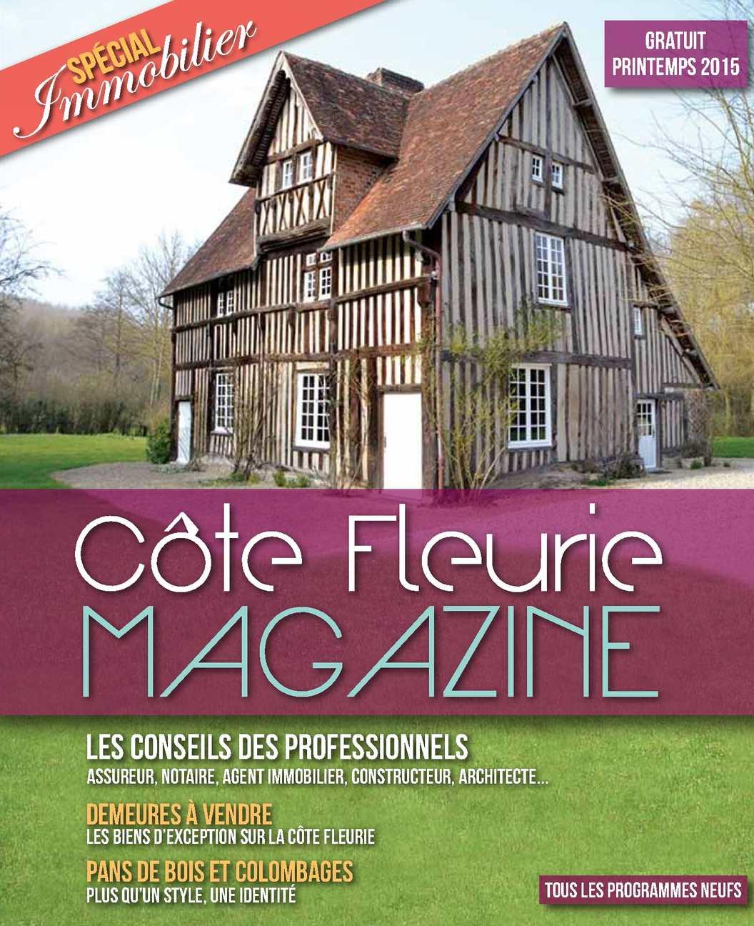 Côte Fleurie Magazine Spécial Immobilier 2015
