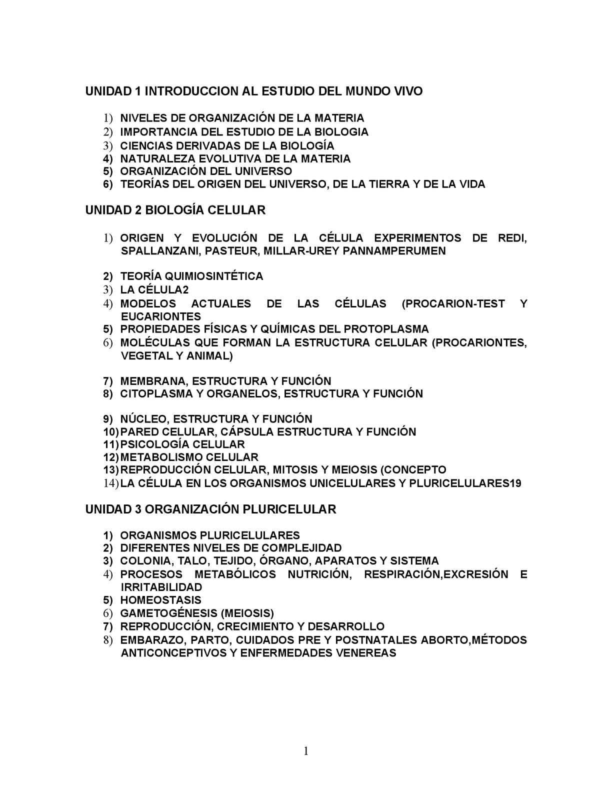 Calaméo Biología 1