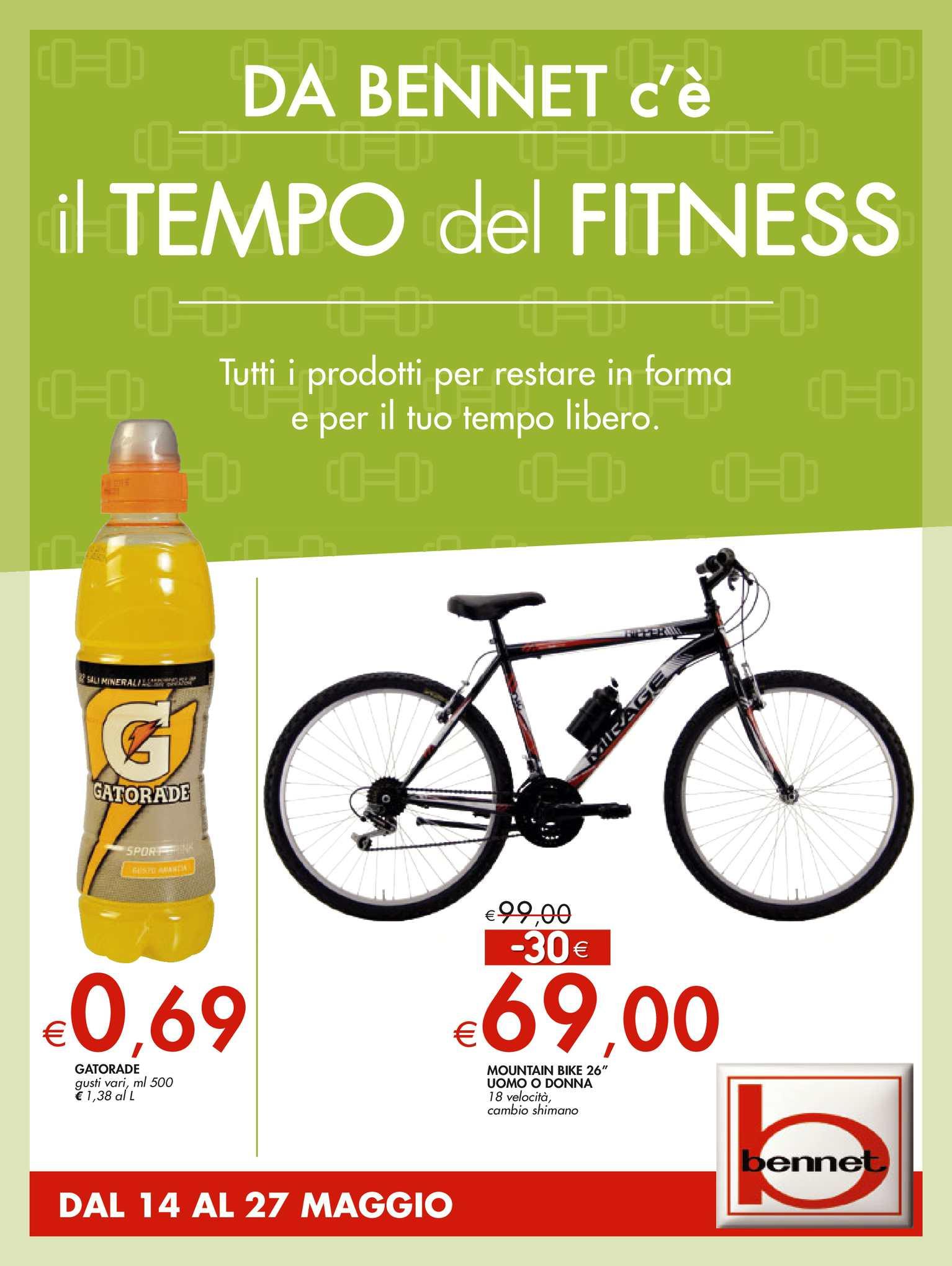 cheap for discount 51021 132ed Calaméo - Volantino Bennet Dal 14 Al 27 Maggio