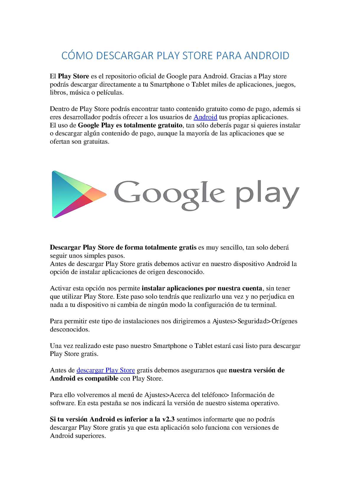 Calameo Descargar Play Store En Android