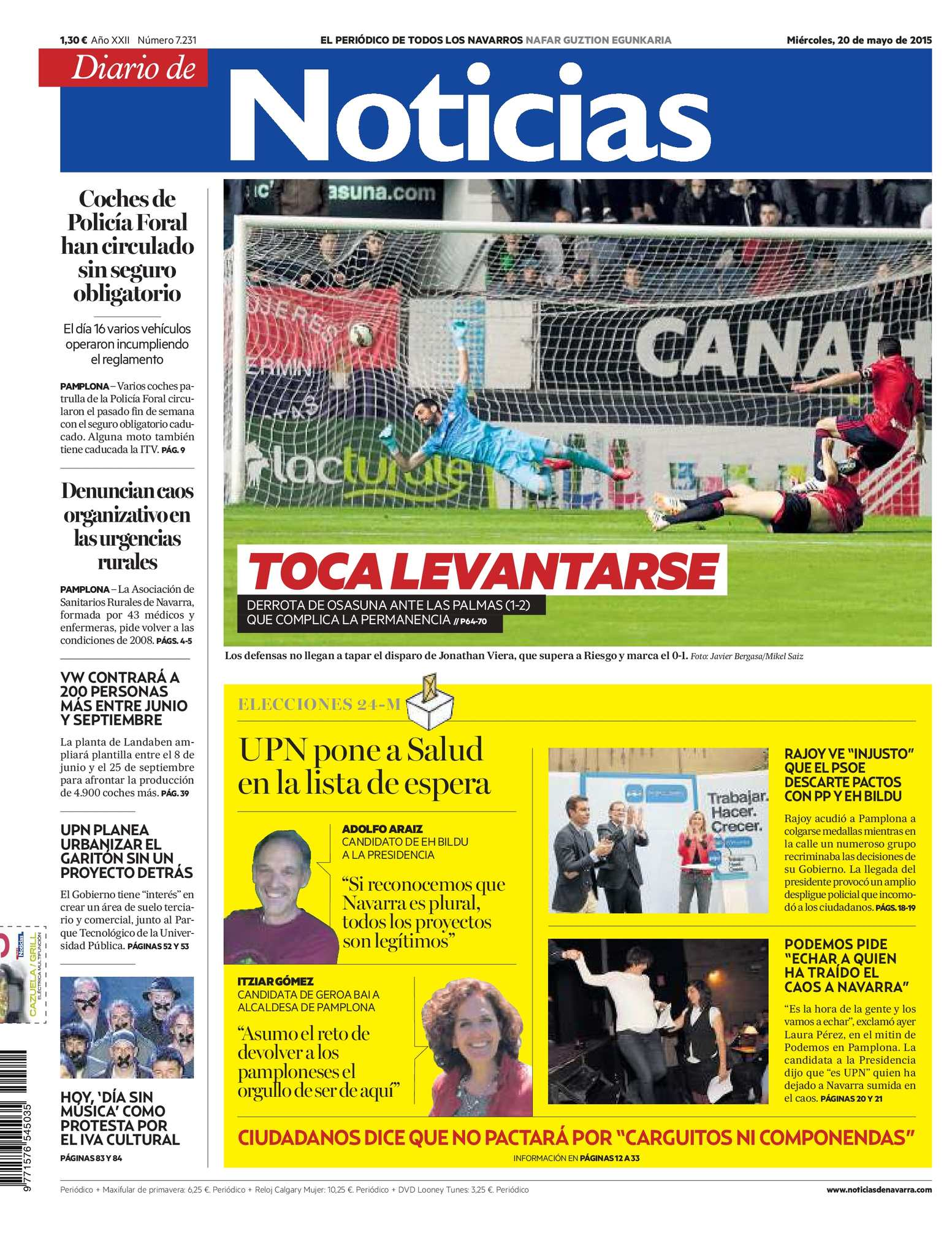 9c4bb37b9 Calaméo - Diario de Noticias 20150520