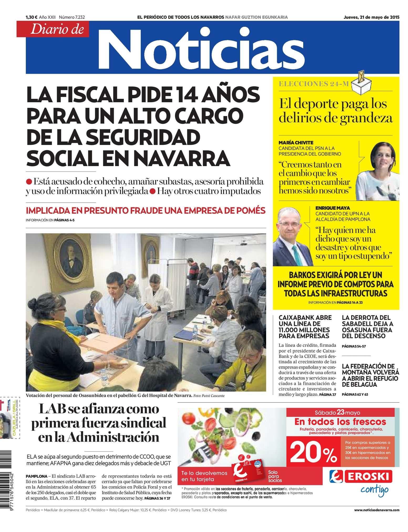 a26834be8a66 Calaméo - Diario de Noticias 20150521