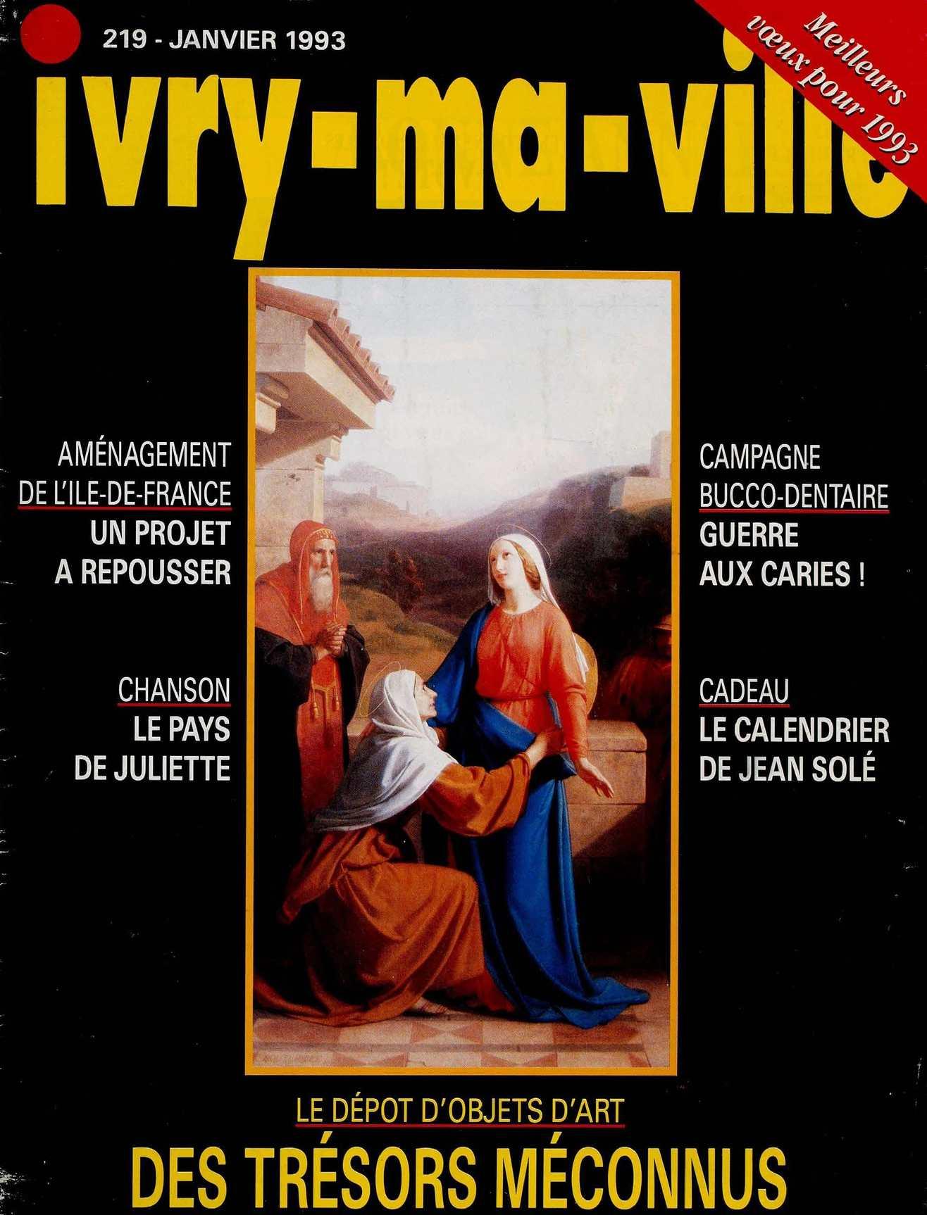 N°219 Janvier Ma 1992 Ivry Calaméo Ville jLcq5RS34A