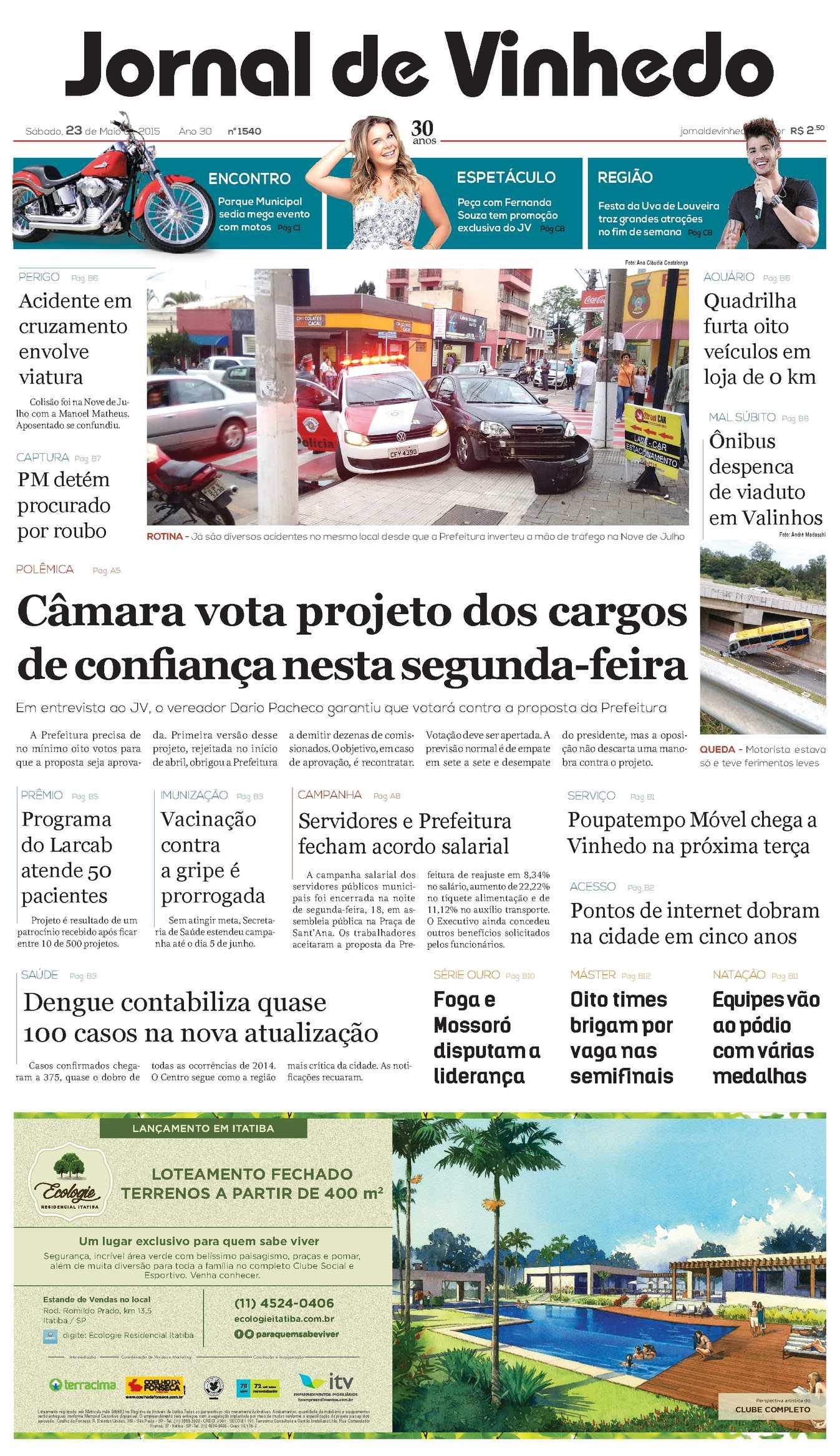 2db4ac53d Calaméo - Jornal De Vinhedo Sábado