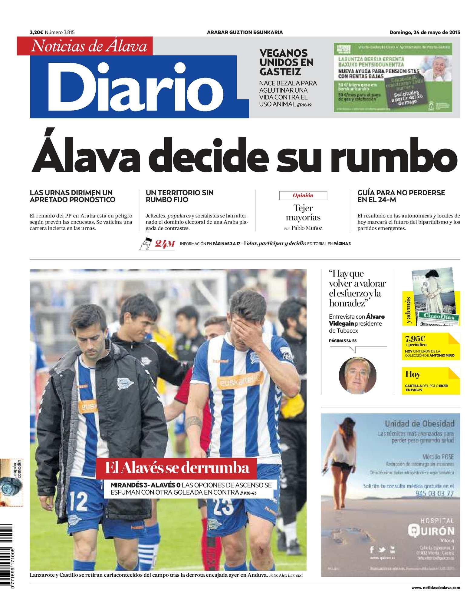 Calaméo Diario de Noticias de Álava 20150524