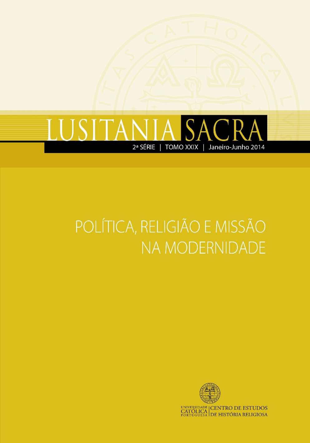 Lusitania Sacra - Série 2 - Tomo 029 (2014)