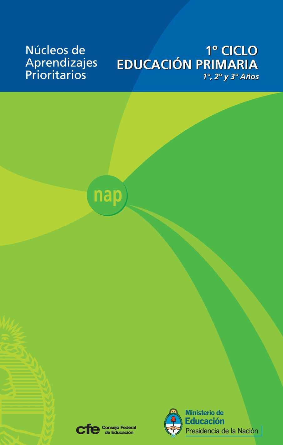 1 Nap Primer Ciclo Edicion 2011