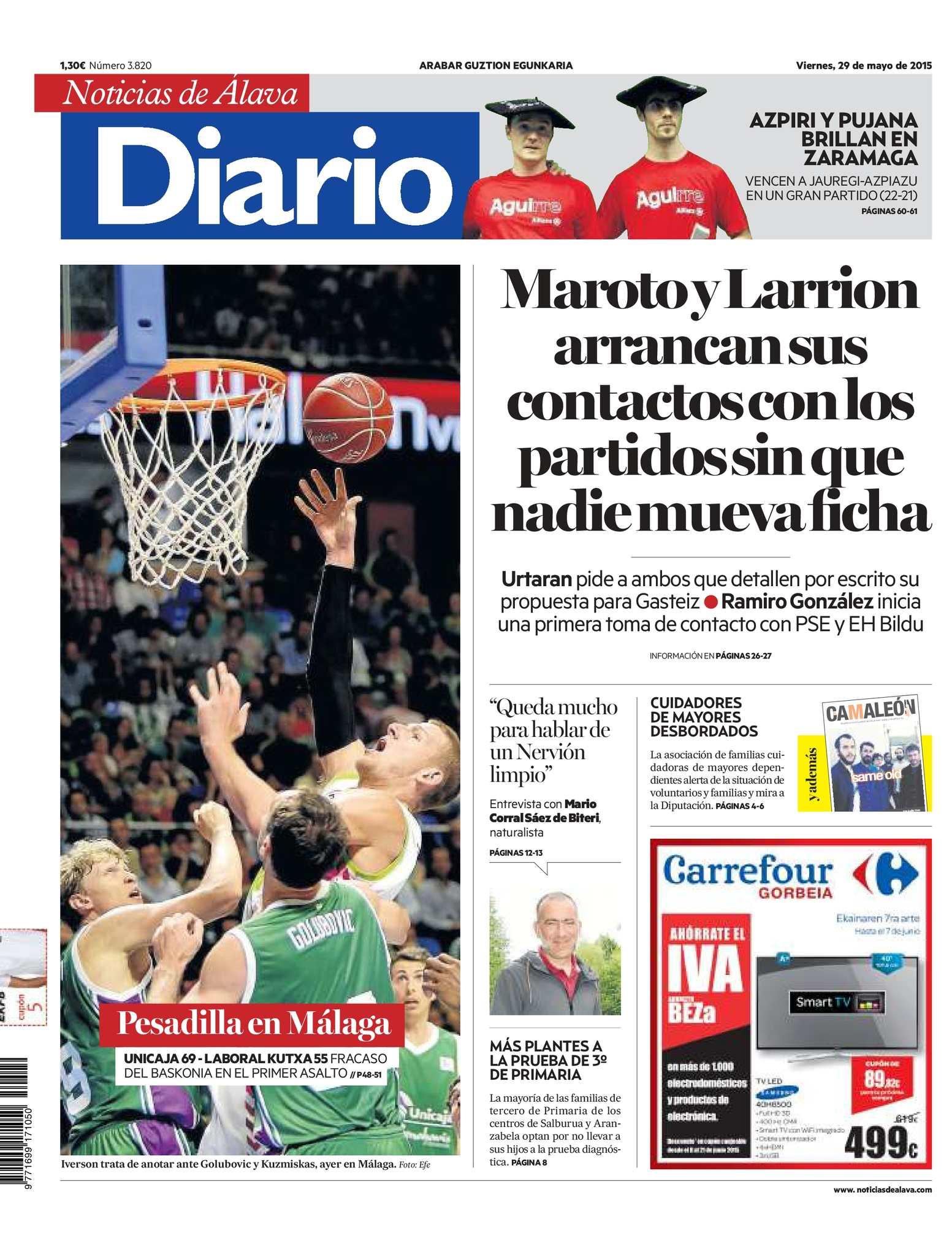 Calaméo - Diario de Noticias de Álava 20150529 829b64a74dd