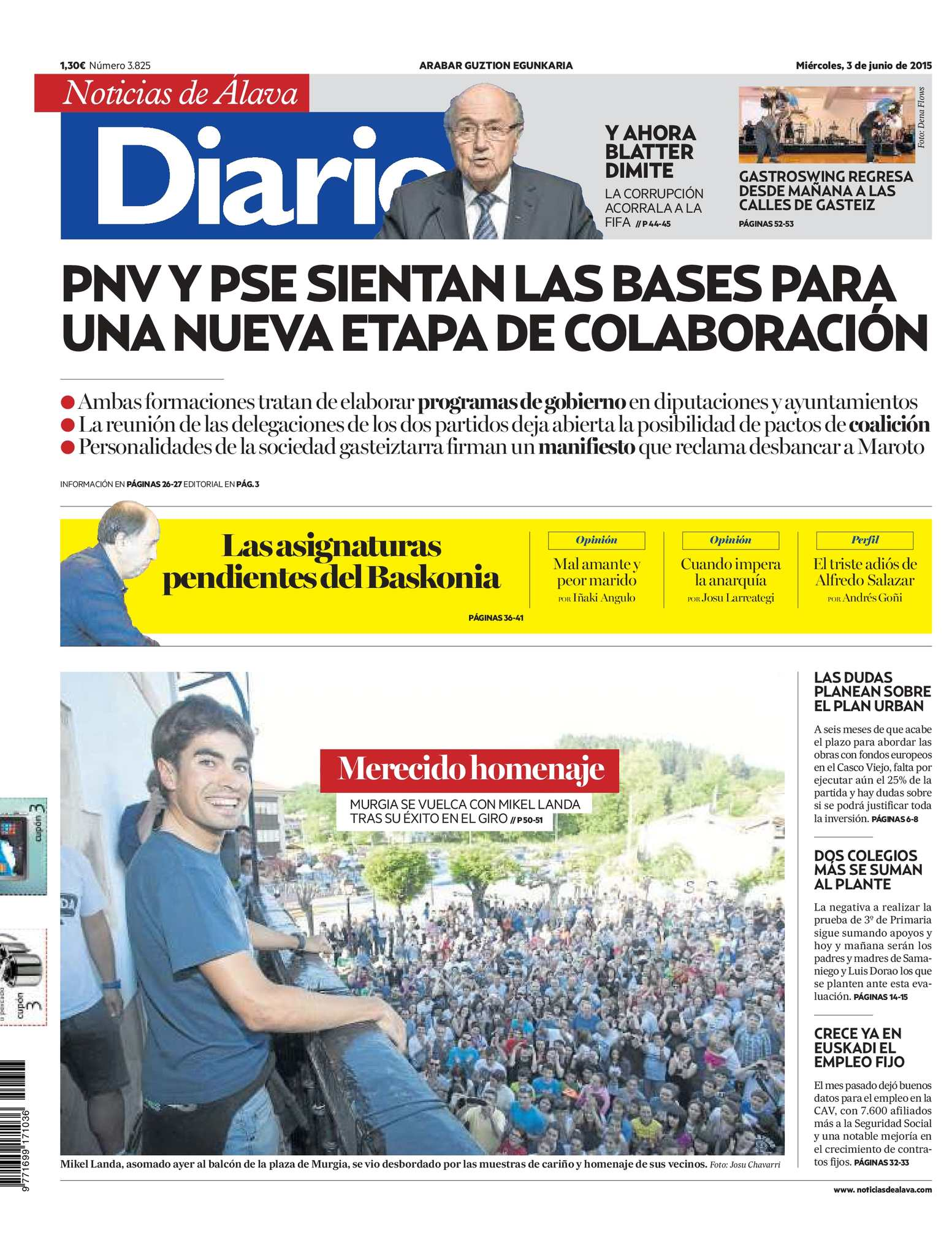 ac59ecde44e21 Calaméo - Diario de Noticias de Álava 20150603