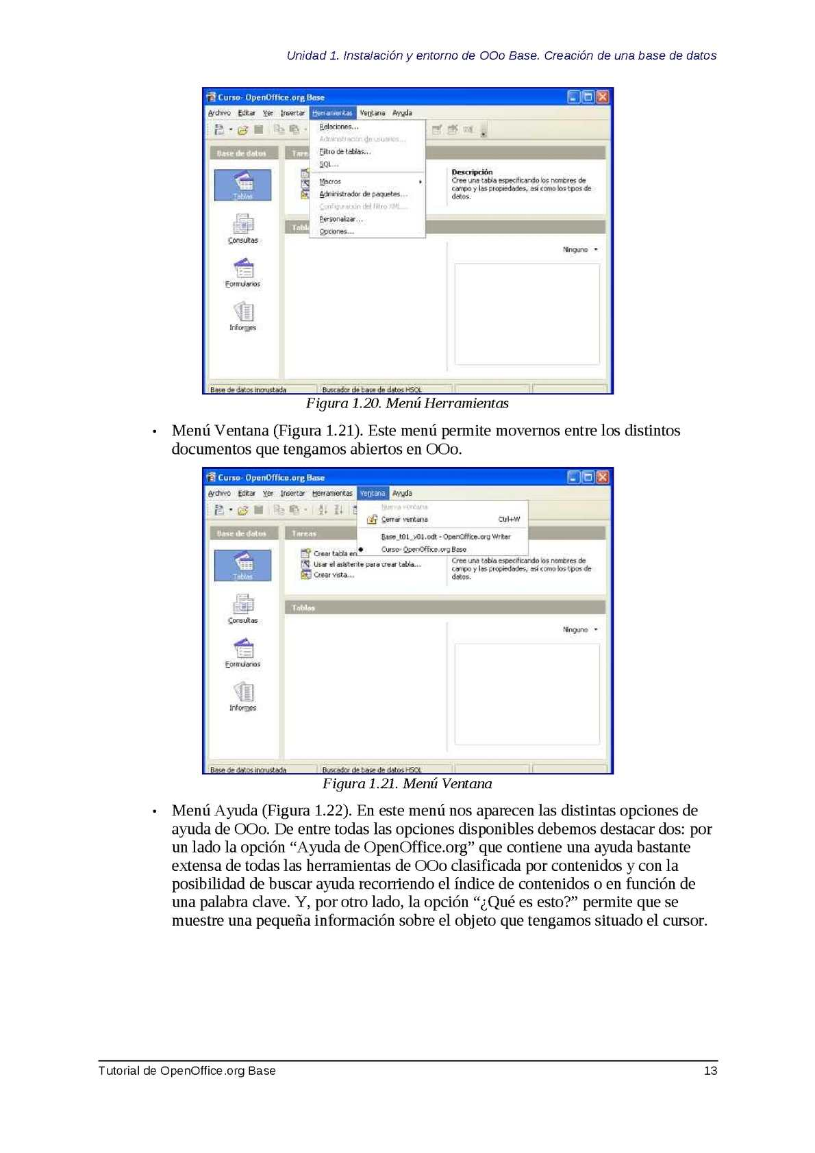 Base, Tutorial de OpenOffice - CALAMEO Downloader