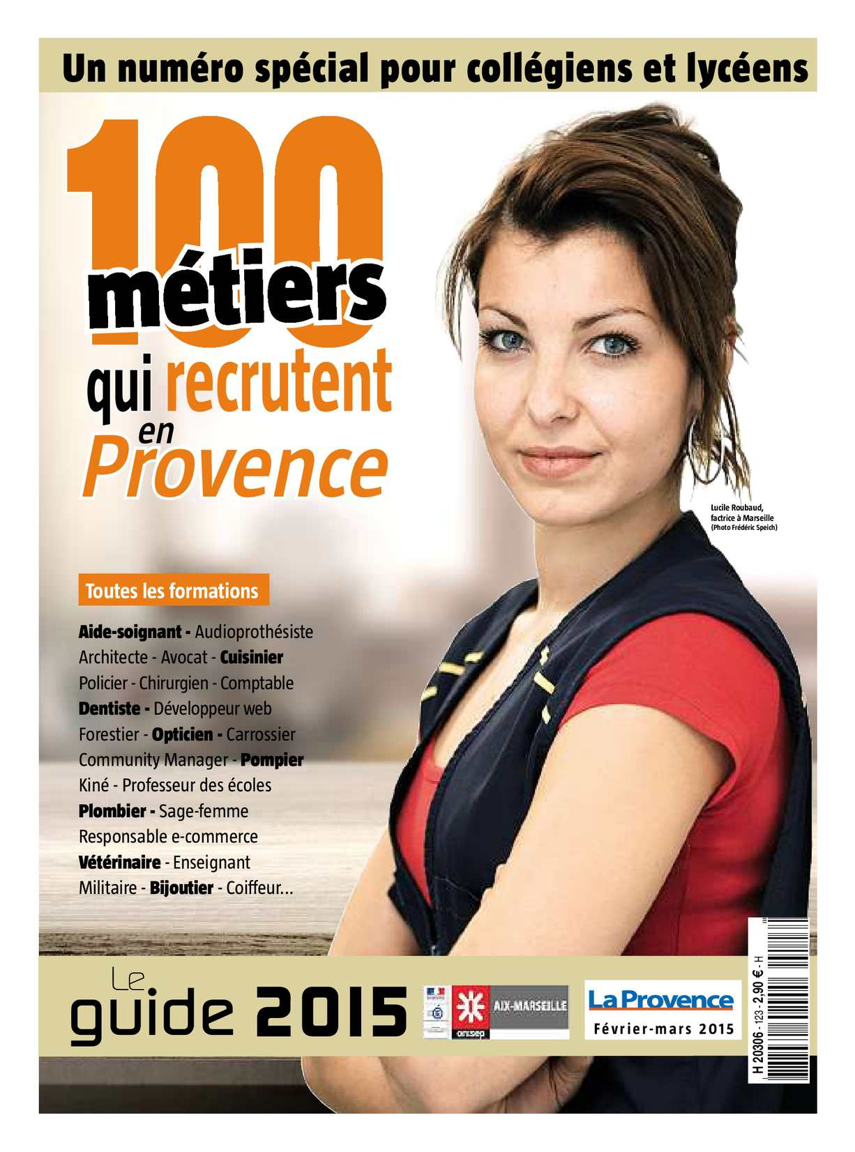 f1faeb44e9 Calaméo - 100 métiers qui recrutent en Provence - Onisep Aix Marseille 2015