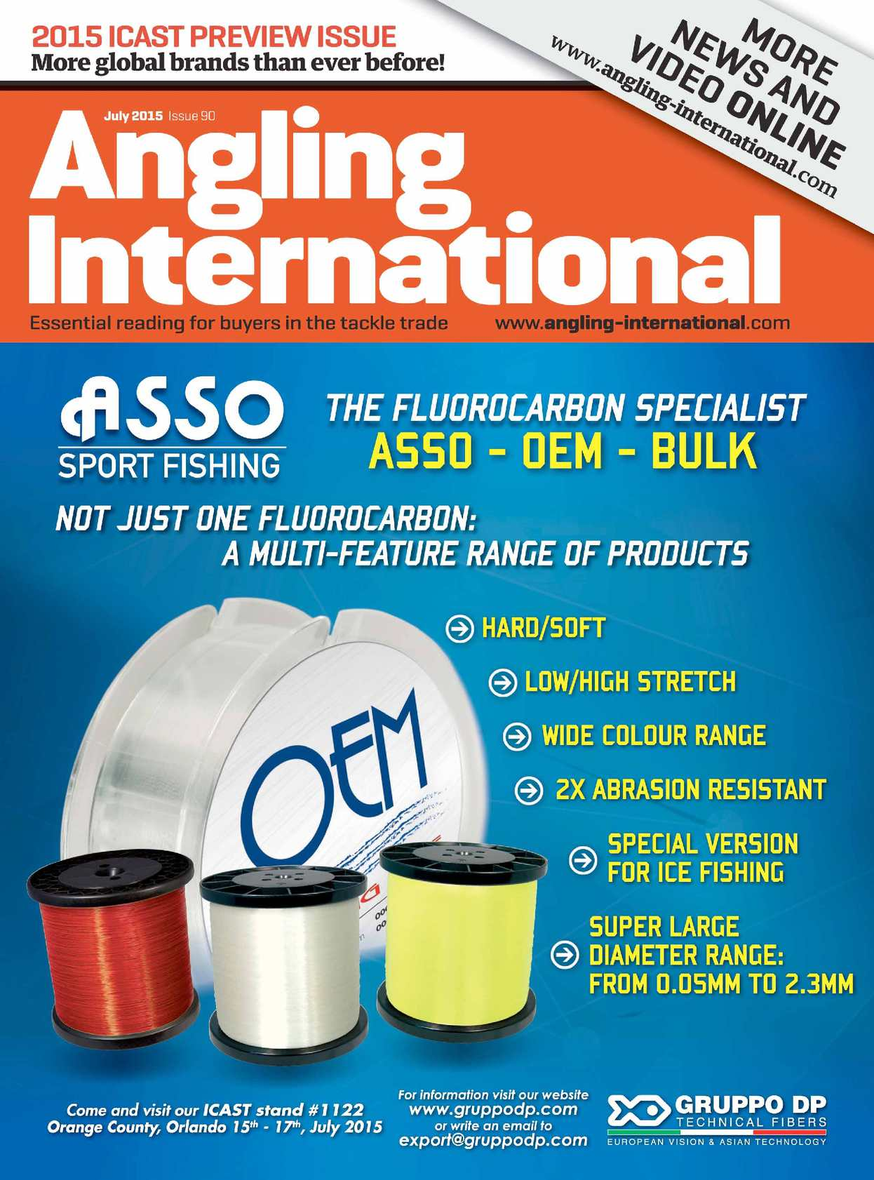 4fa0abb84e1 Calaméo - Angling International - July 2015 - Issue 90