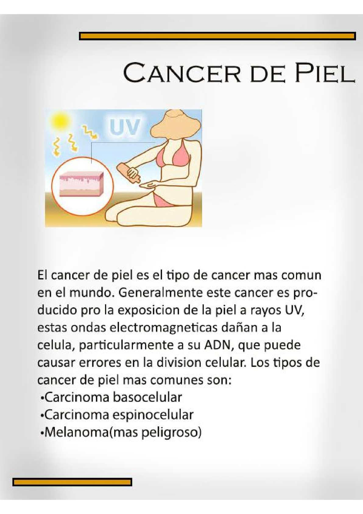 que cancer es mas frecuente