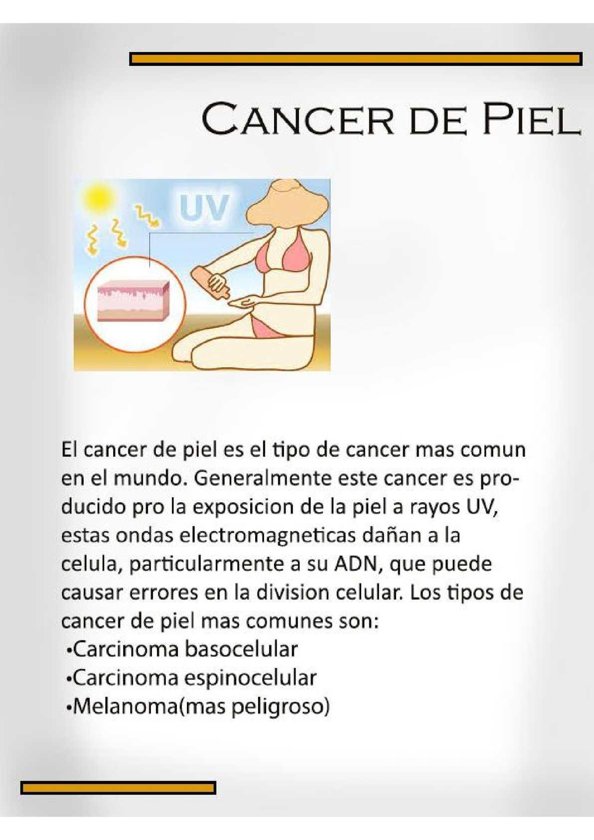 que es cancer biologia