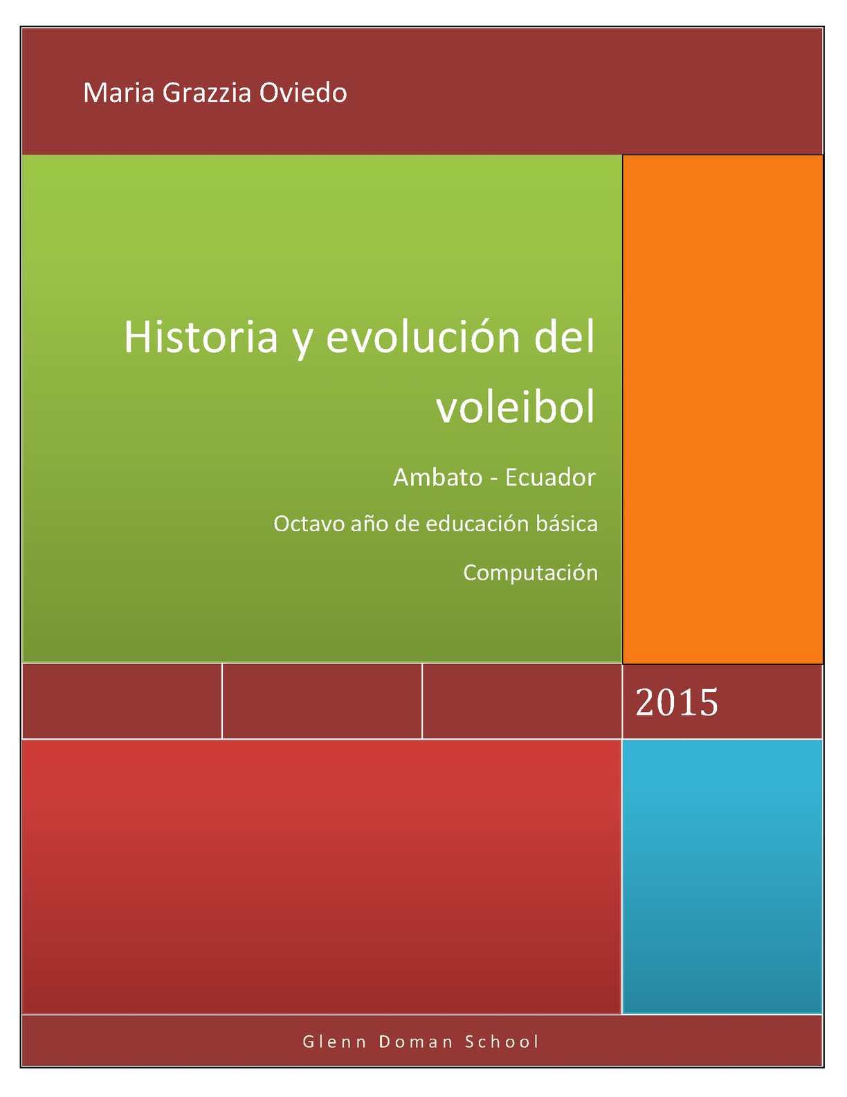 Calaméo Historia Y Evolución Del Voleibo1