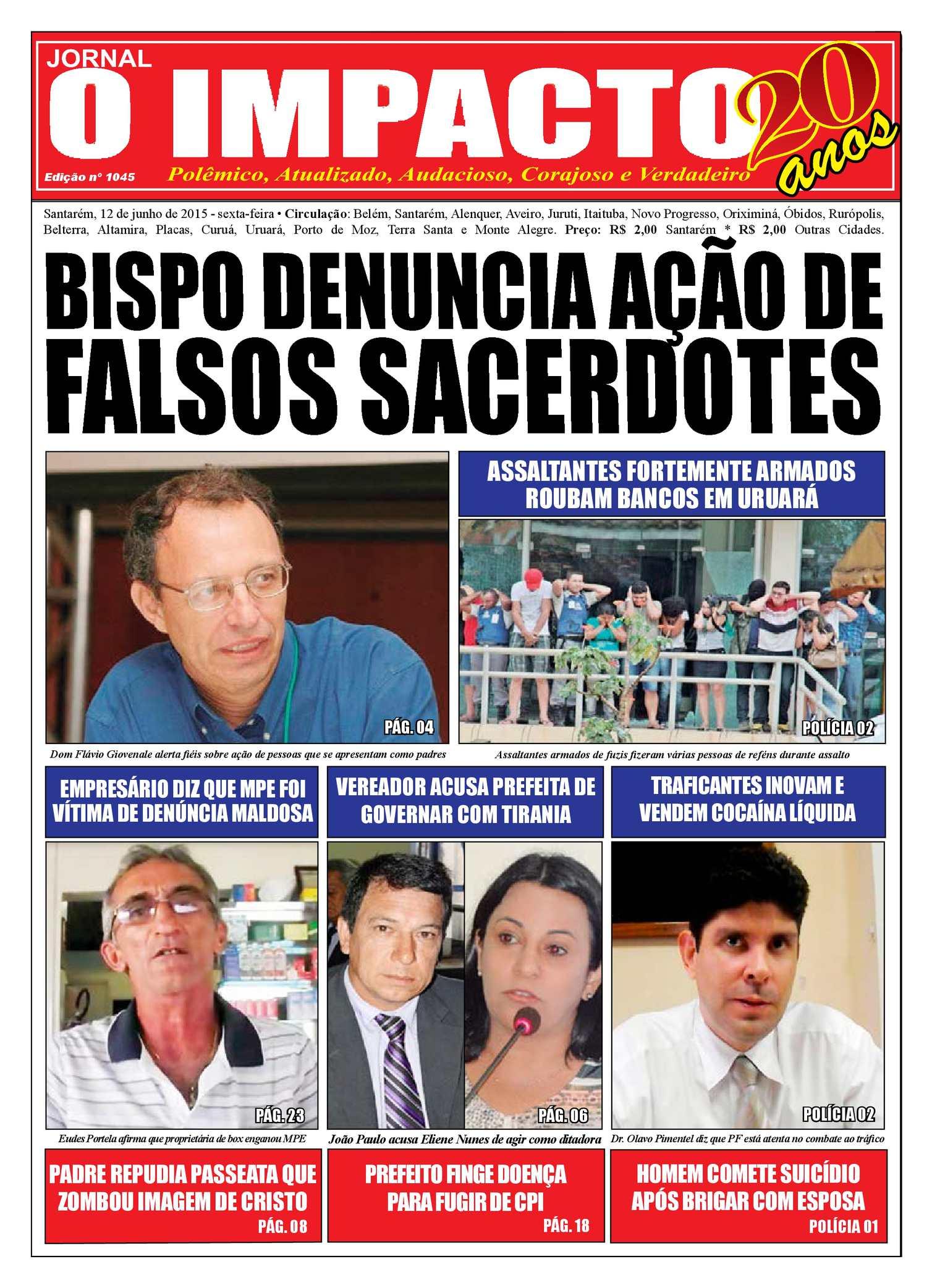 0cff58392e Calaméo - Jornal O Impacto Ed. 1045