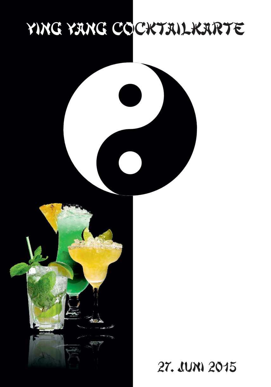 Cocktail Karte.Calaméo Yinyang Hochzeit Cocktail Karte