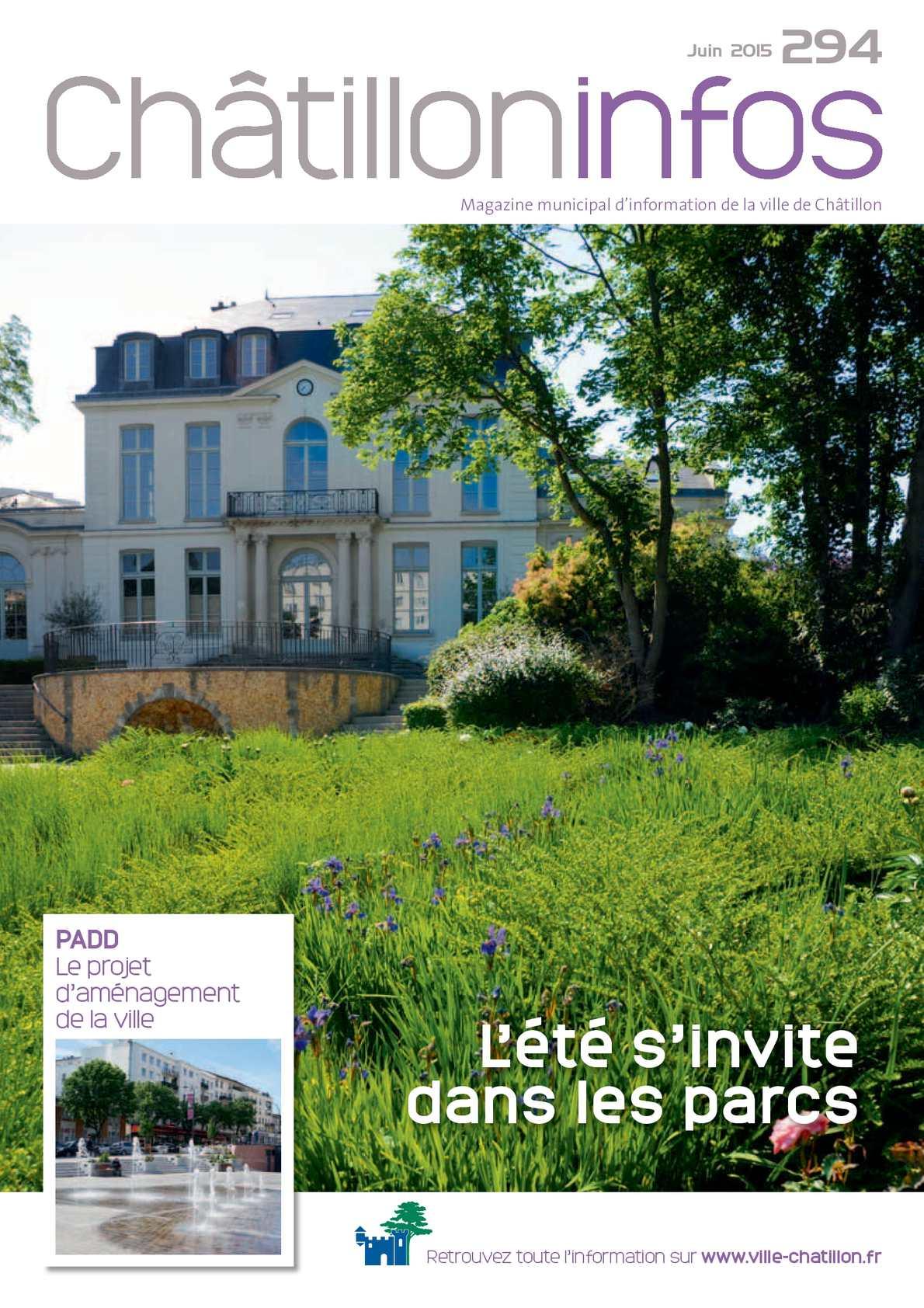 Calaméo - Châtillon Infos - Juin 2015
