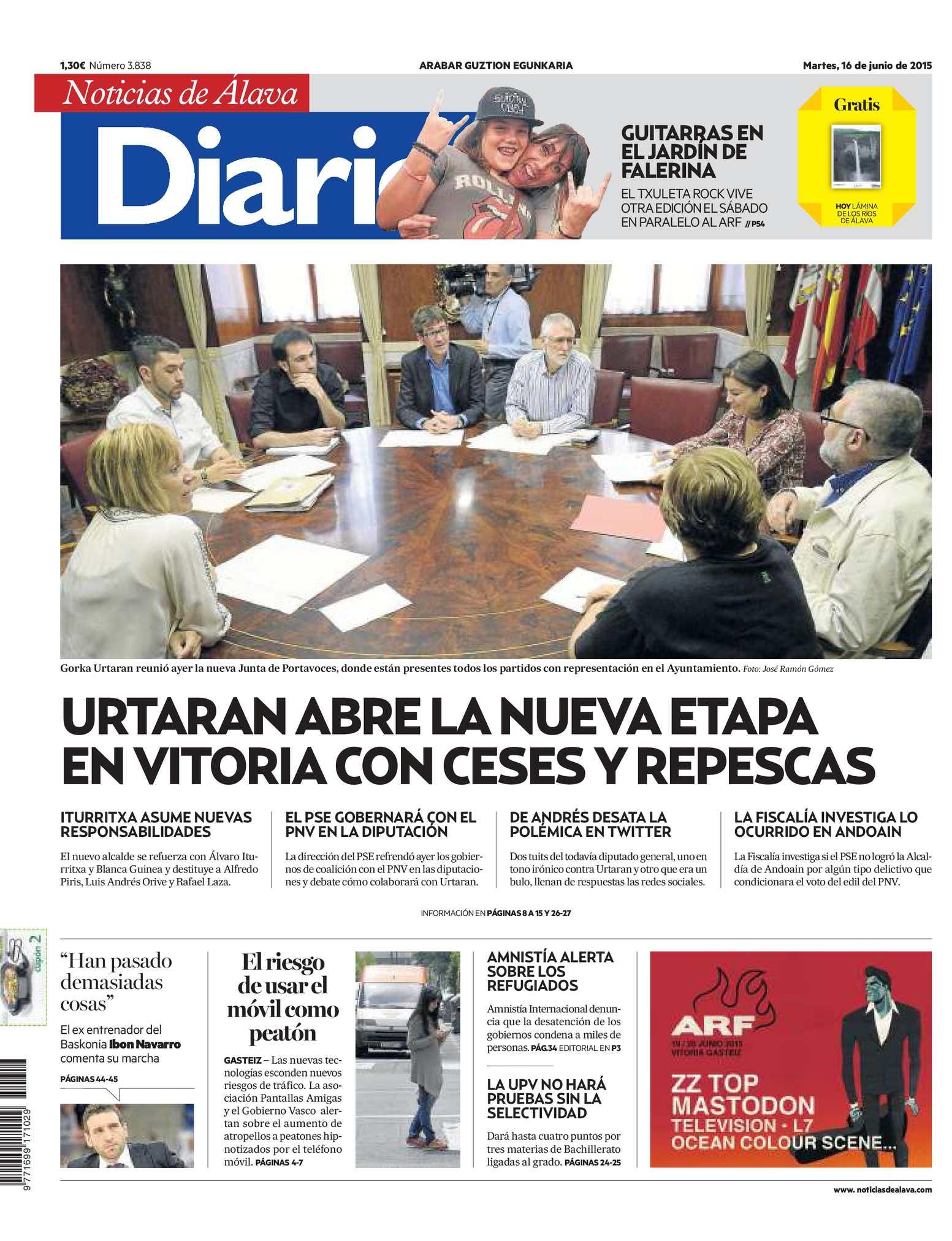 Diario 20150616 Calaméo Noticias Álava De qVSzpUM