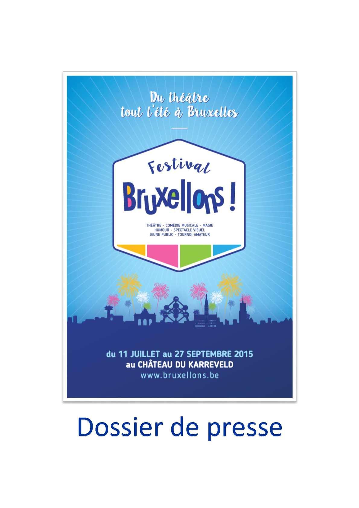 08878d47ec4e50 Calaméo - Dossier De Presse Bruxellons 2015