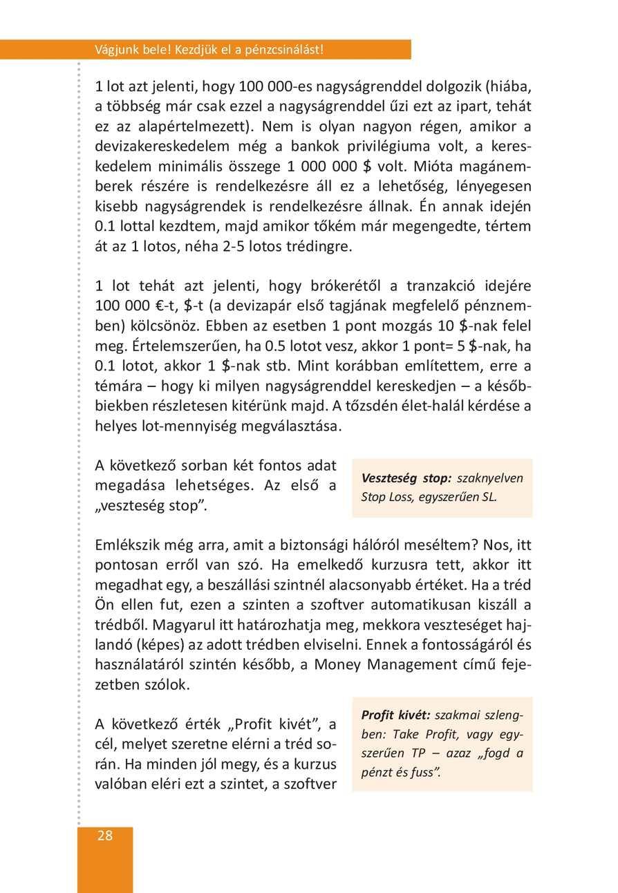 Daytrade stratégiák – Forex daytrade stratégia