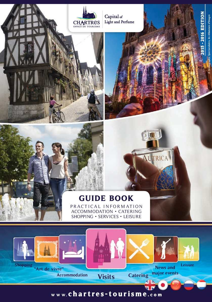 Calameo Chartres Guide Book In English 2015 2016