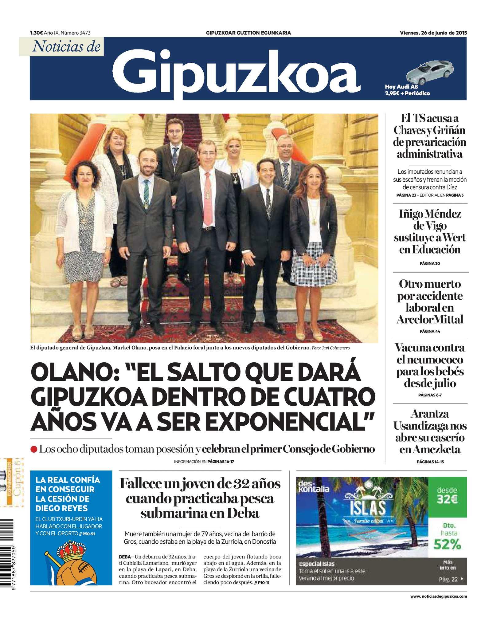 12faf972f875 Calaméo - Noticias de Gipuzkoa 20150626