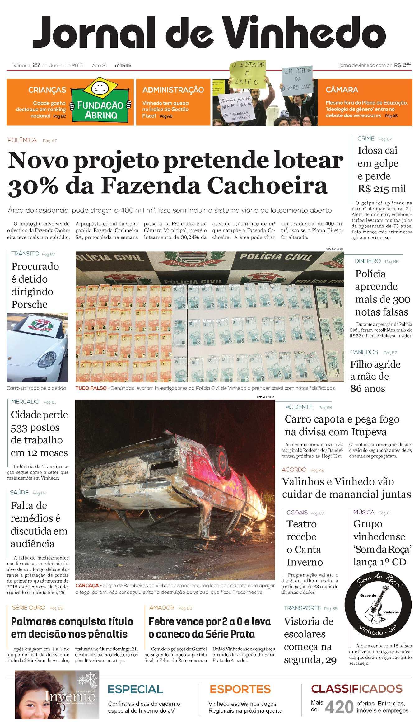 Calaméo - Jornal De Vinhedo Sábado e637e0aeb6a