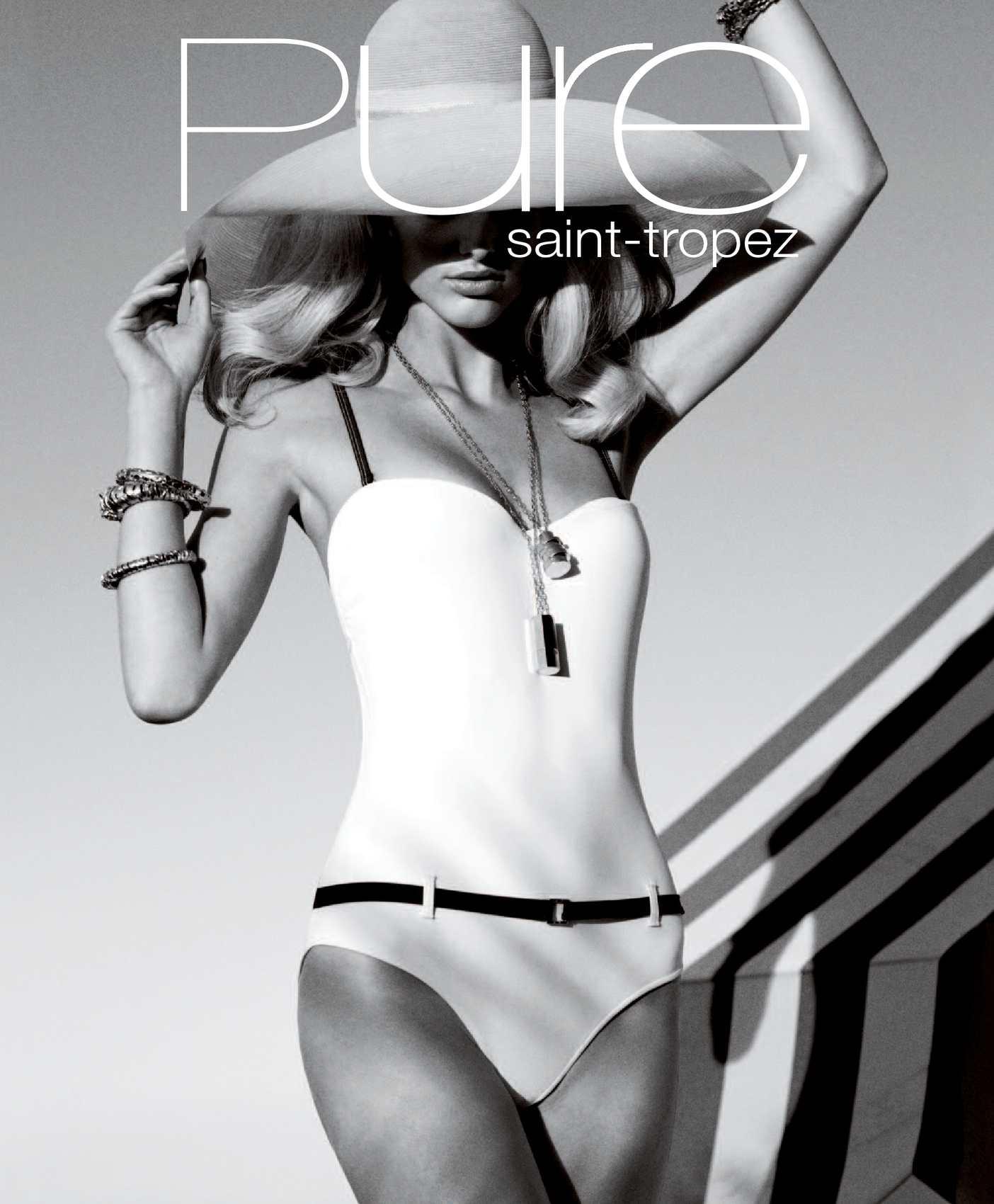 Les Canebiers Womens Double Strap Bikini Bottom Blue Size Italian 44