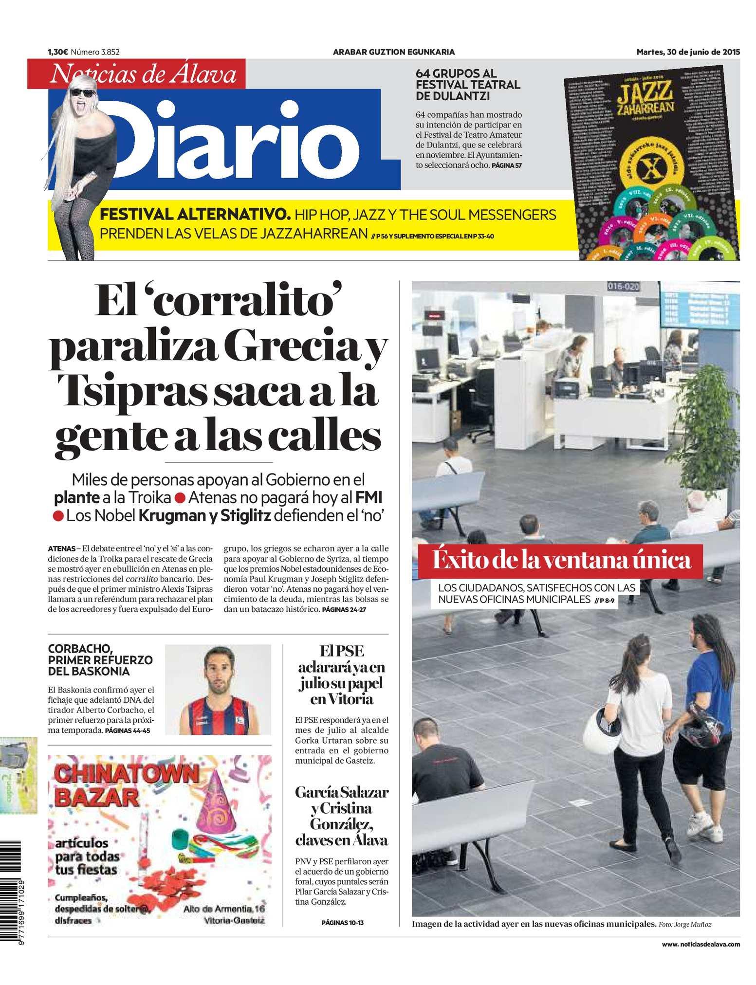 best sneakers 59382 75957 Calaméo - Diario de Noticias de Álava 20150630