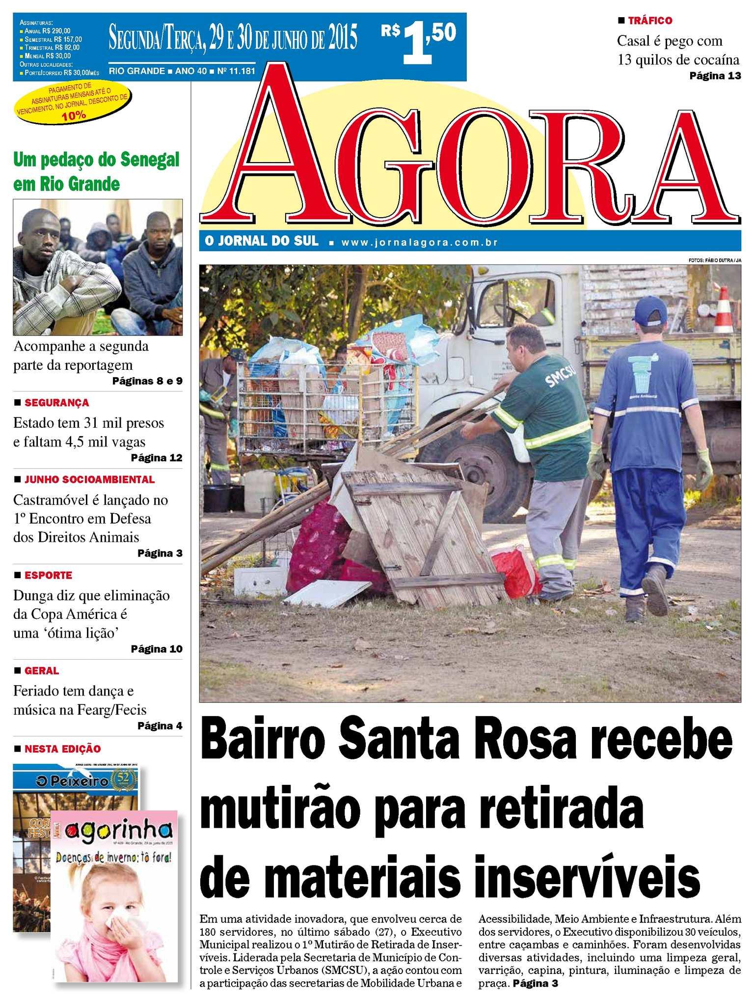 Calaméo - Jornal Agora - Edição 11181 - 29 e 30 de Junho de 2015 b0498c3fe15