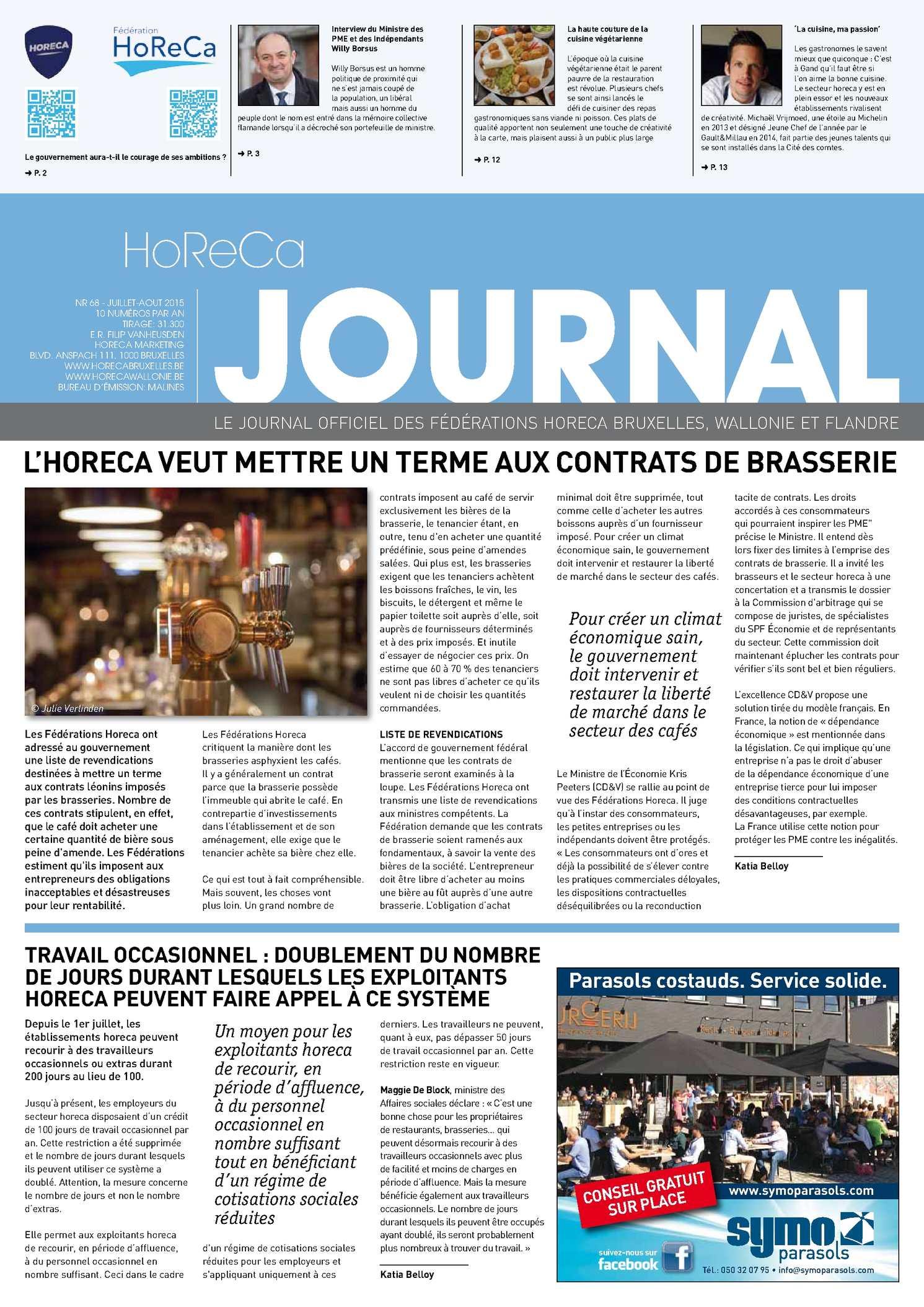 Calaméo - Horeca Journal Juillet 2015 b0aaf348ca1