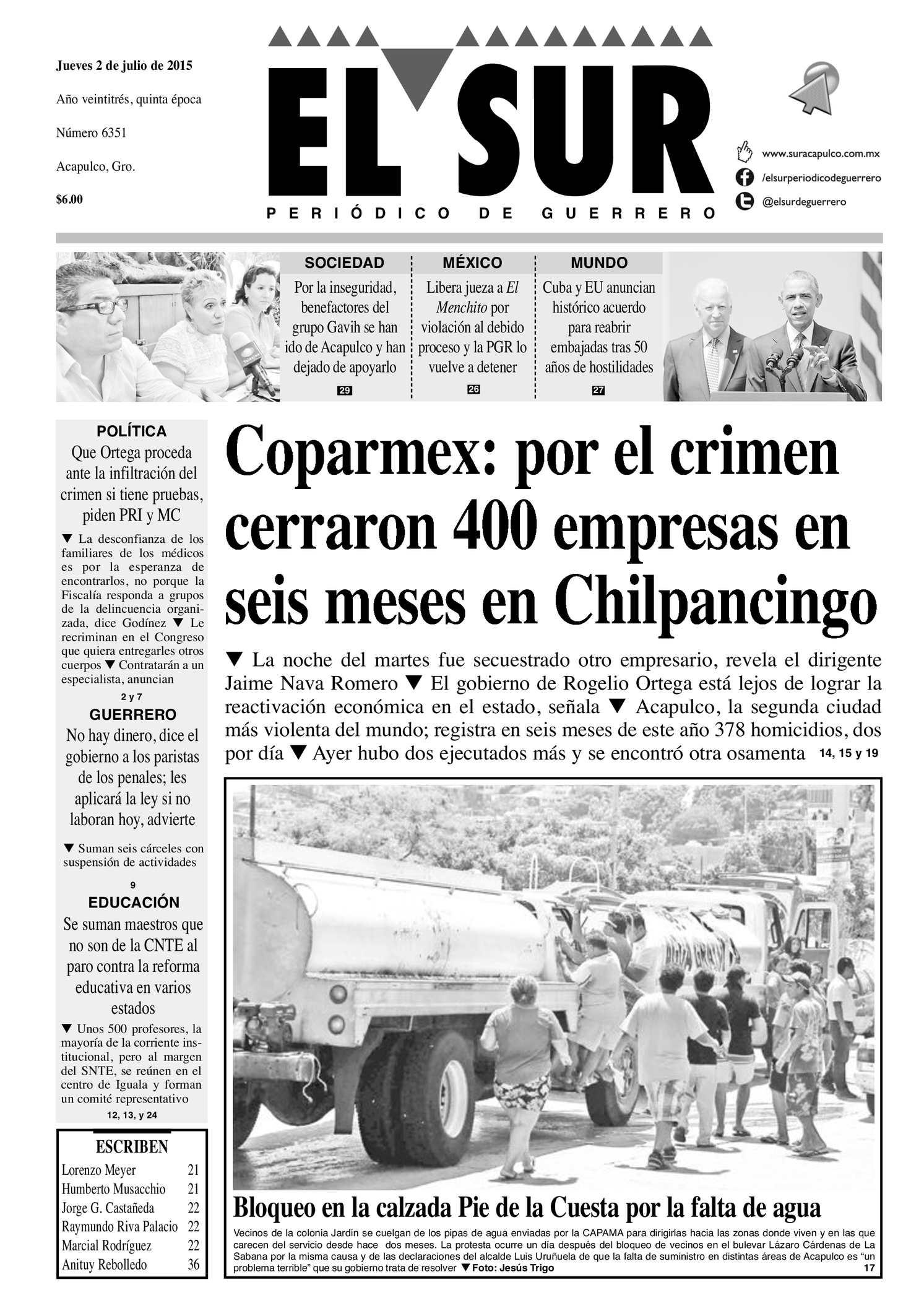 c9880d231 Calaméo - El Sur Jueves 02072015