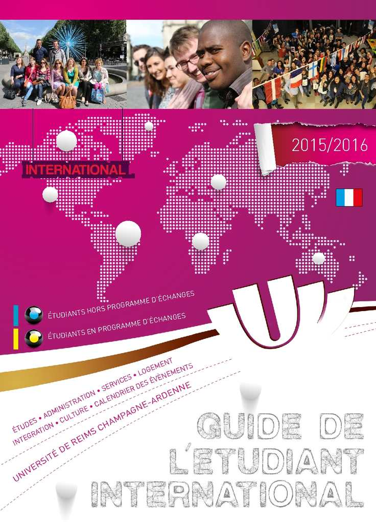Calaméo Guide Etudiant International 1516 Francais Web