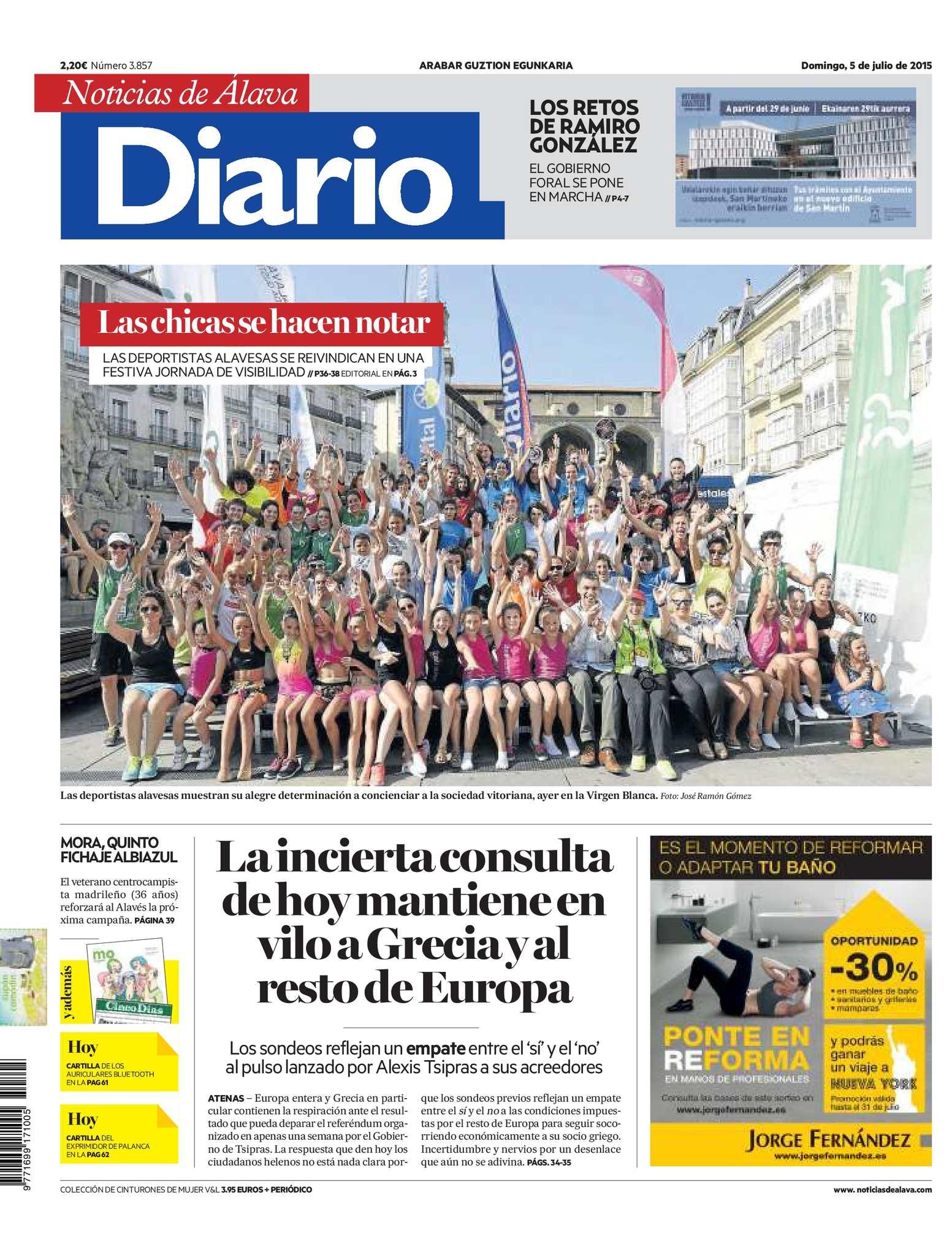 e17b55cc0b6 Calaméo - Diario de Noticias de Álava 20150705