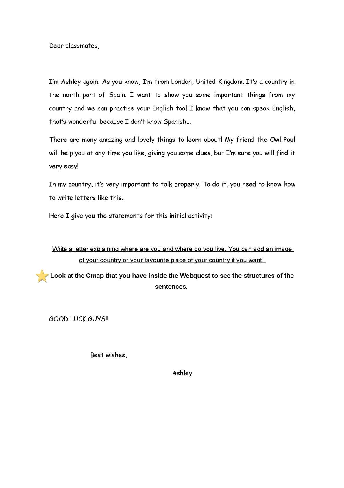 My letter write a friend to How to