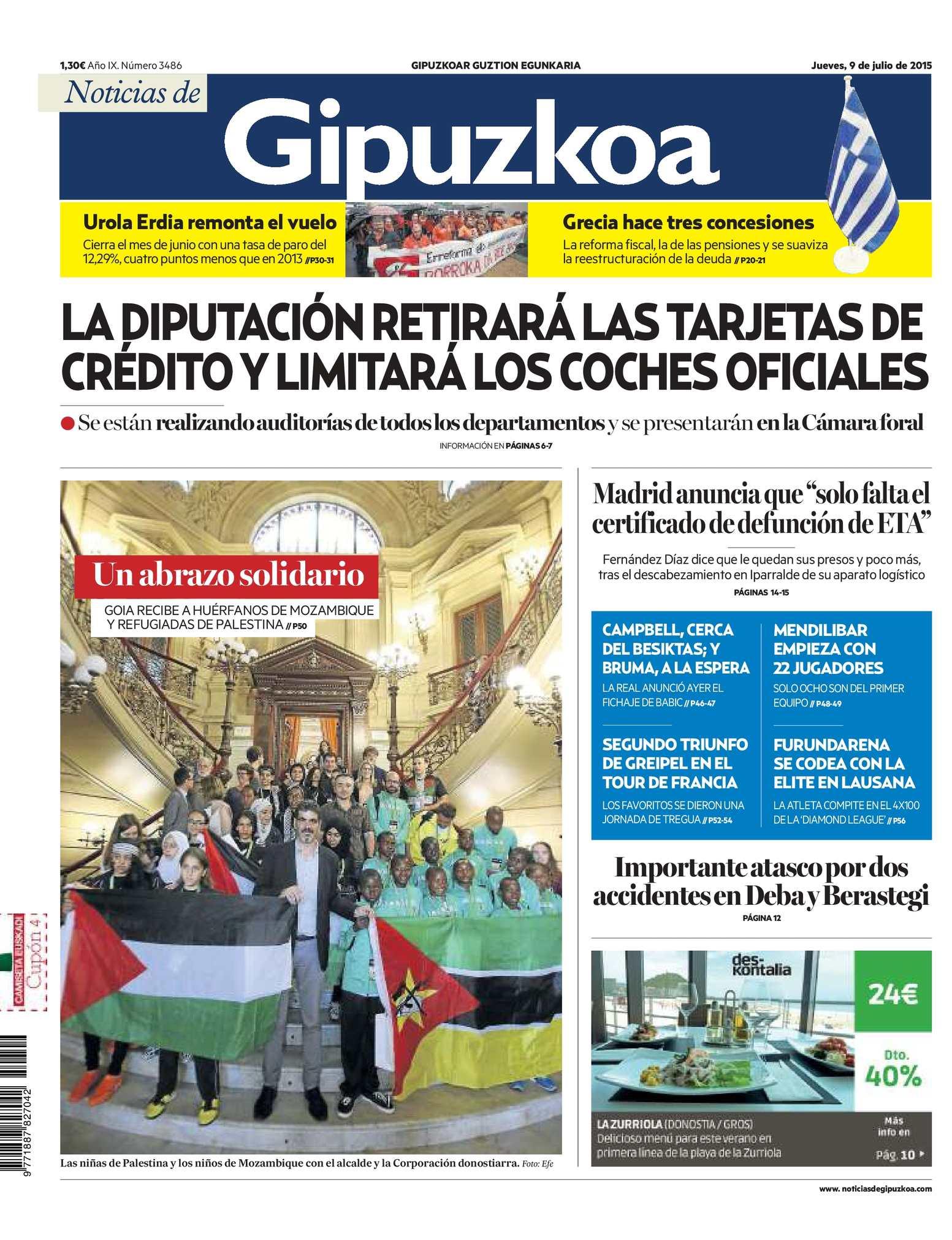 cc1aa56c9 Calaméo - Noticias de Gipuzkoa 20150709