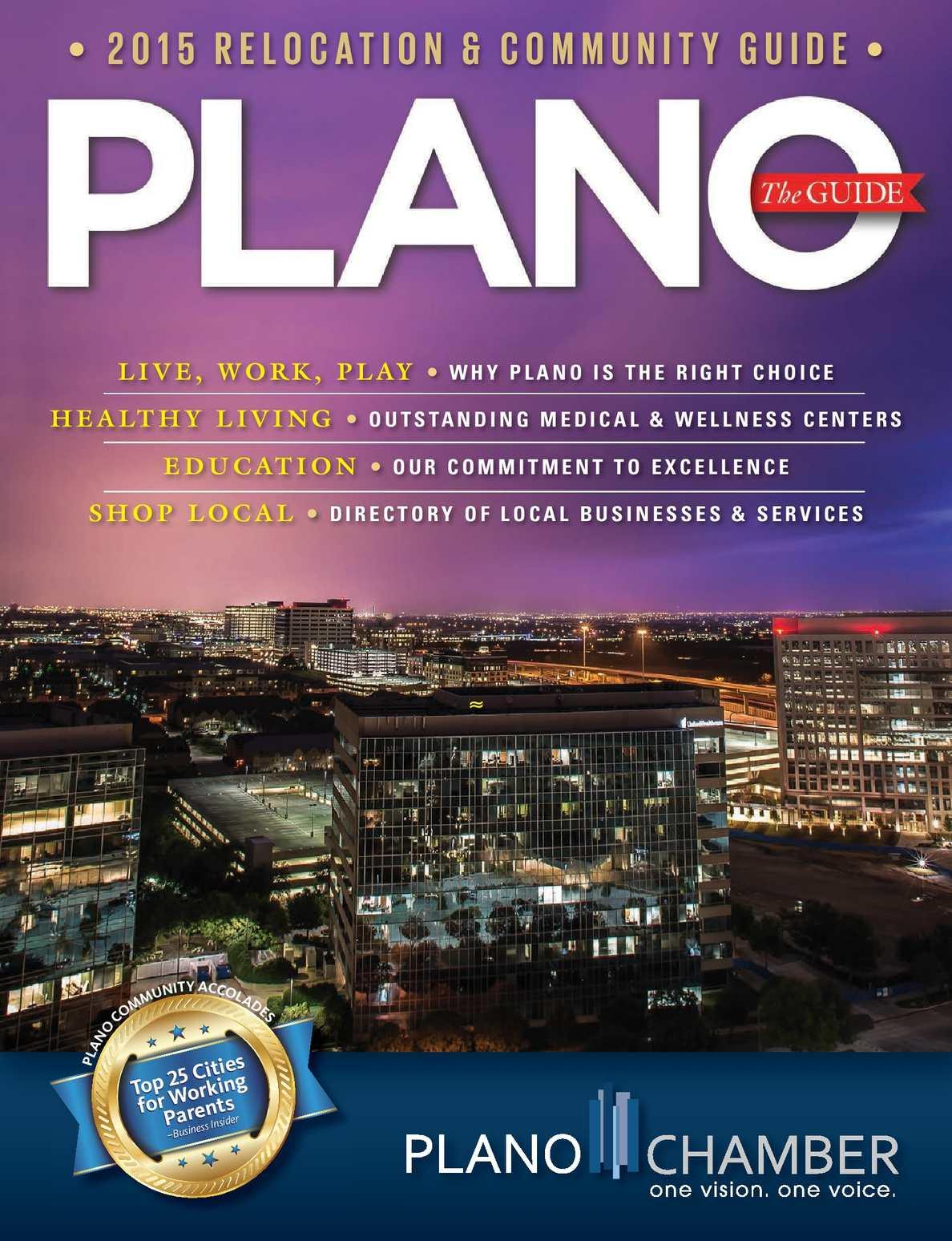 Calaméo - The Plano Guide 2015