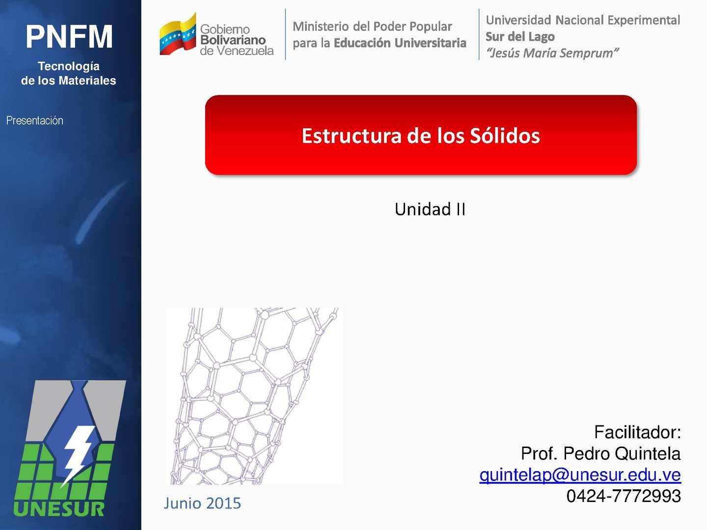 Calaméo Pnfm Tma Estructura De Los Sólidos