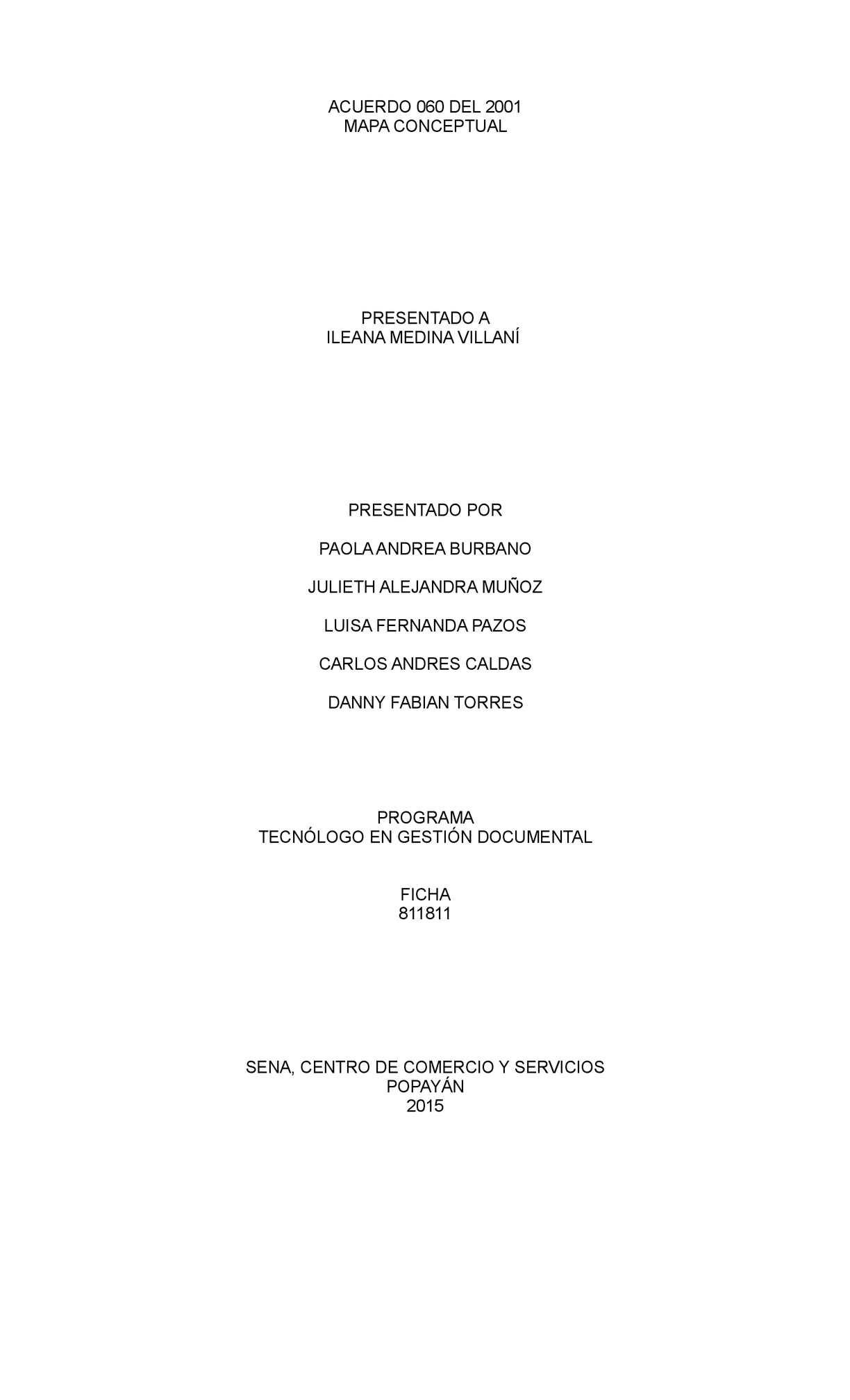 Acuerdo 060 - Mapa conceptual