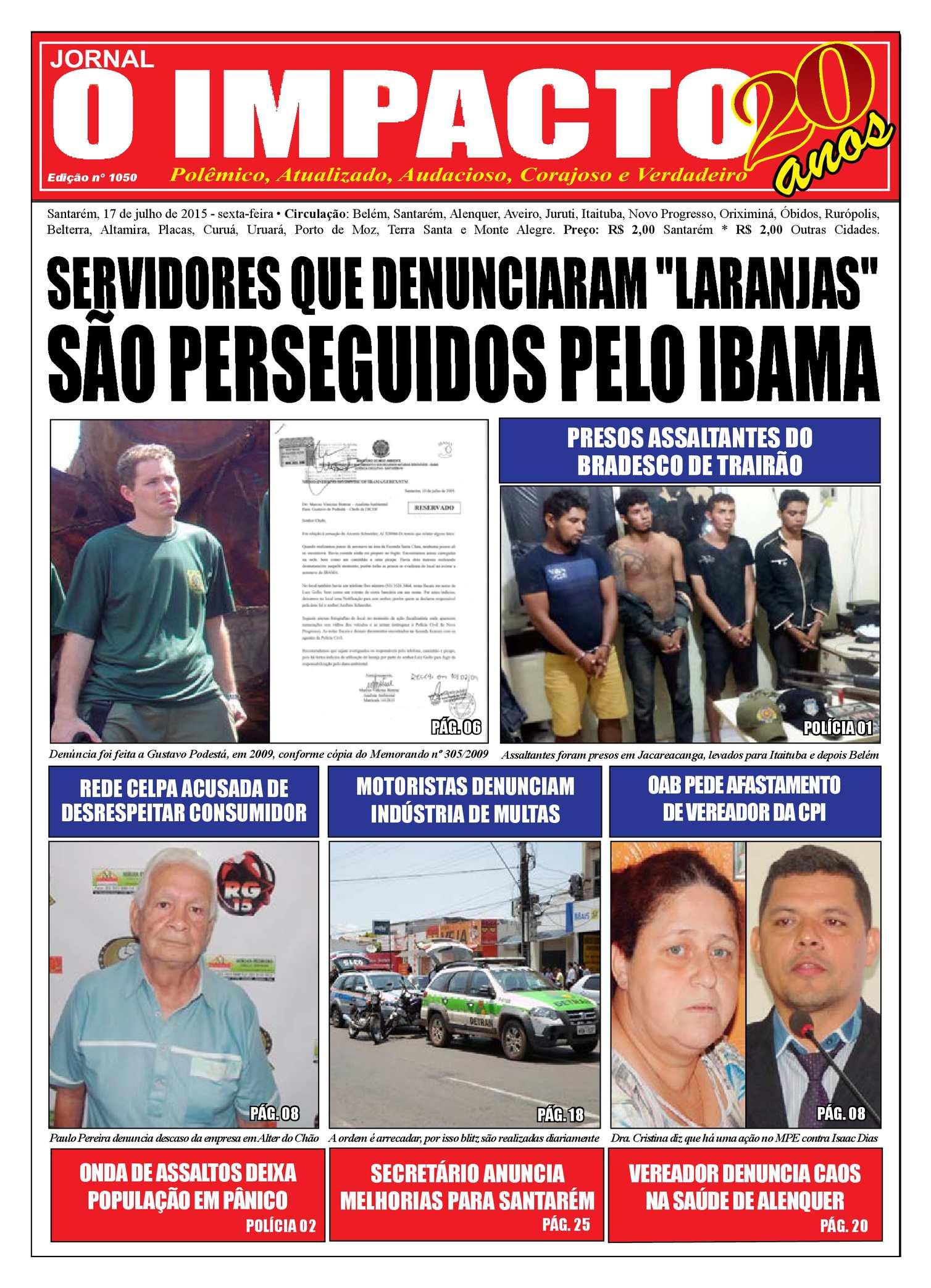 3fb6428053d Calaméo - Jornal O Impacto Ed. 1050