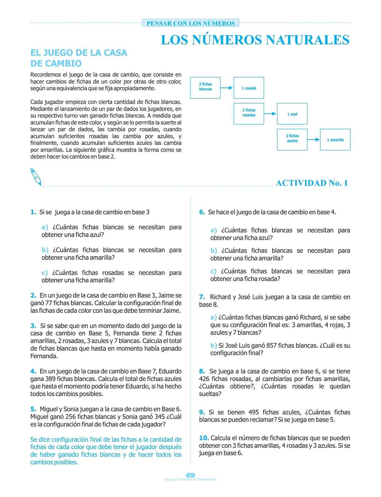 Calameo Libro Juega Y Construye La Matematica Grado Quinto