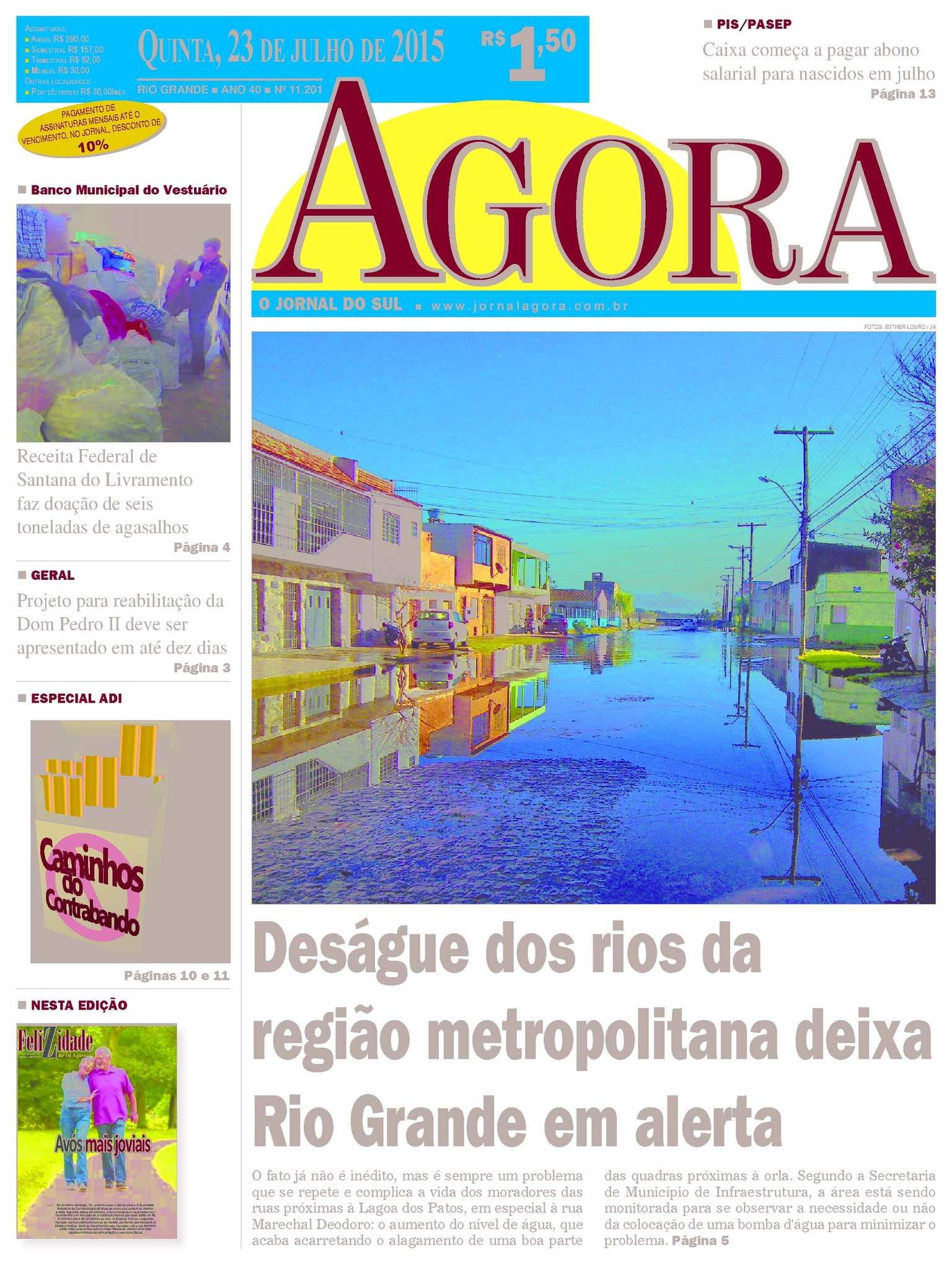 ff7ac5cf96b90 Calaméo - Jornal Agora - Edição 11201 - 23 de Julho de 2015