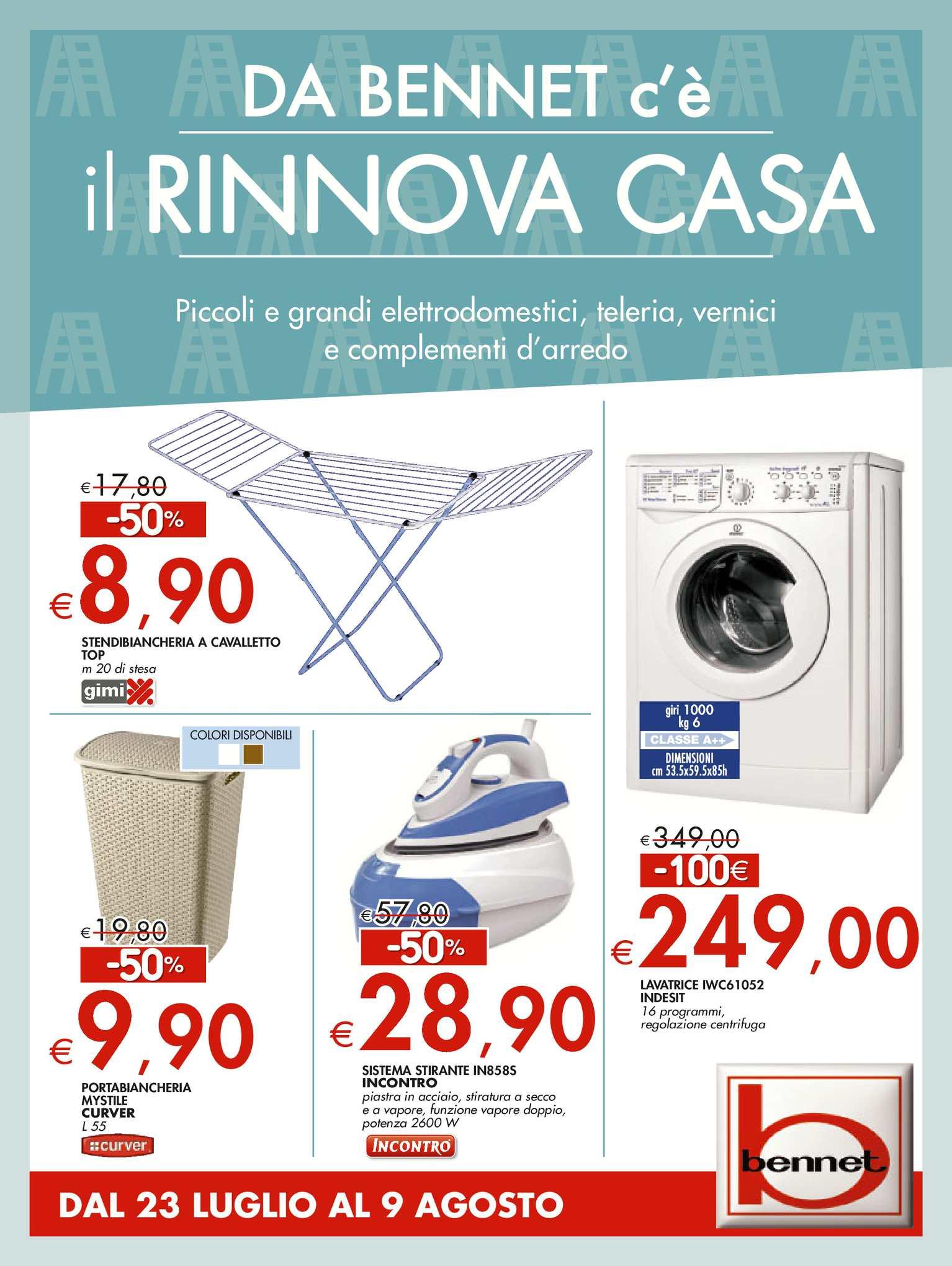 release date: f52a5 bd123 Calaméo - Volantino Bennet Casa Dal 23 Luglio Al 9 Agosto